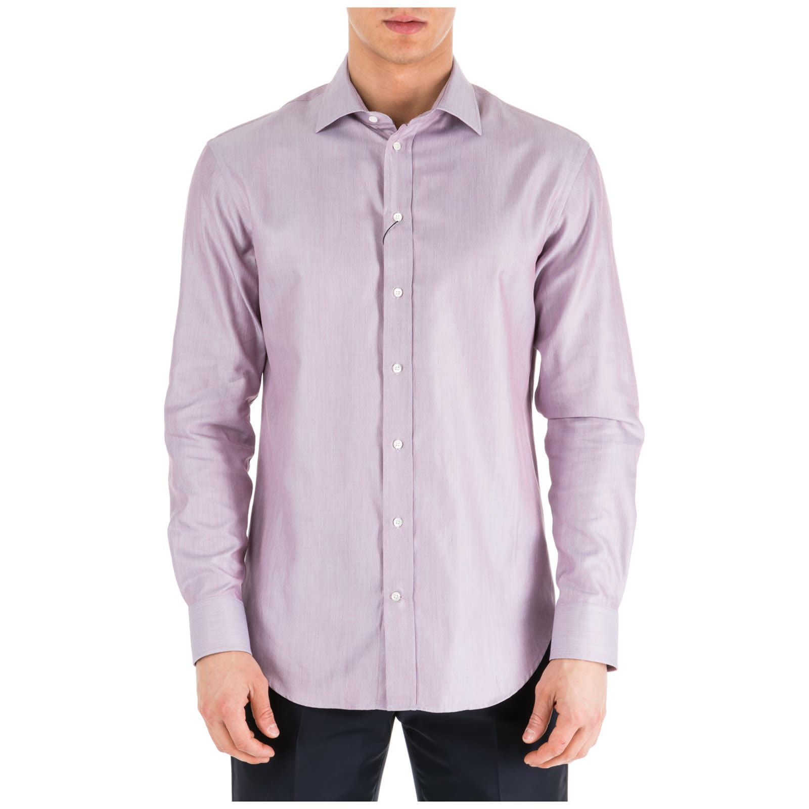 cheap for discount 96bc3 057ba Best price on the market at italist | Emporio Armani Emporio Armani  Herrenhemd Hemd Herren Langarm Langarmhemd Modern Fit