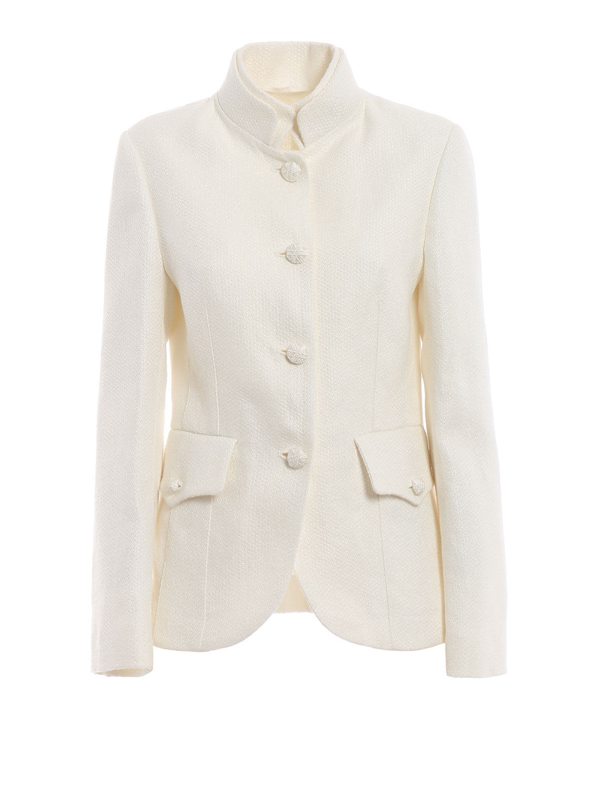 Ermanno Scervino Stand-up Collar Jacket