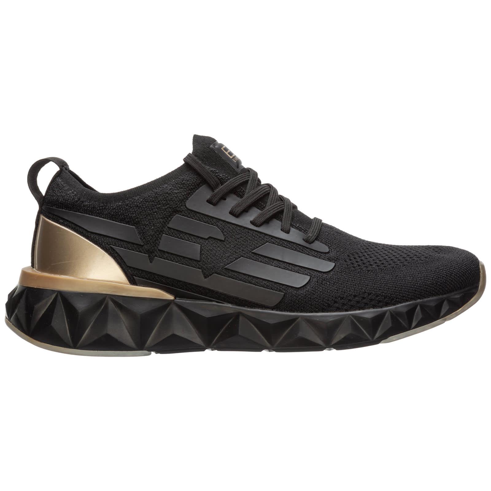 Ea7 Emporio Armani Teddy Sneakers In