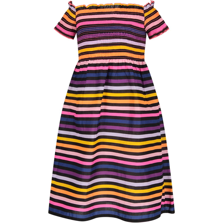 Buy Sonia Rykiel Multicolor Girl Dress With Logo online, shop Sonia Rykiel with free shipping