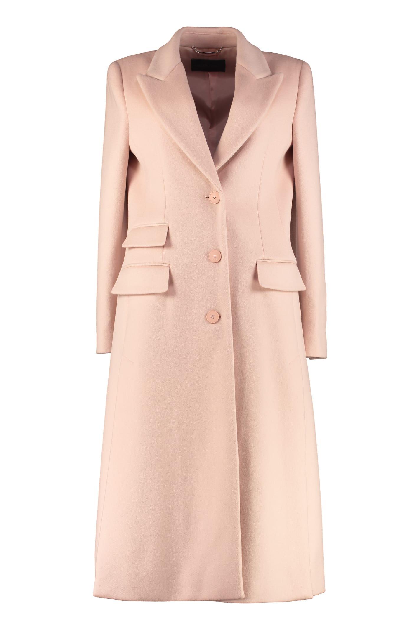 Alberta Ferretti Virgin Wool And Cashmere Coat