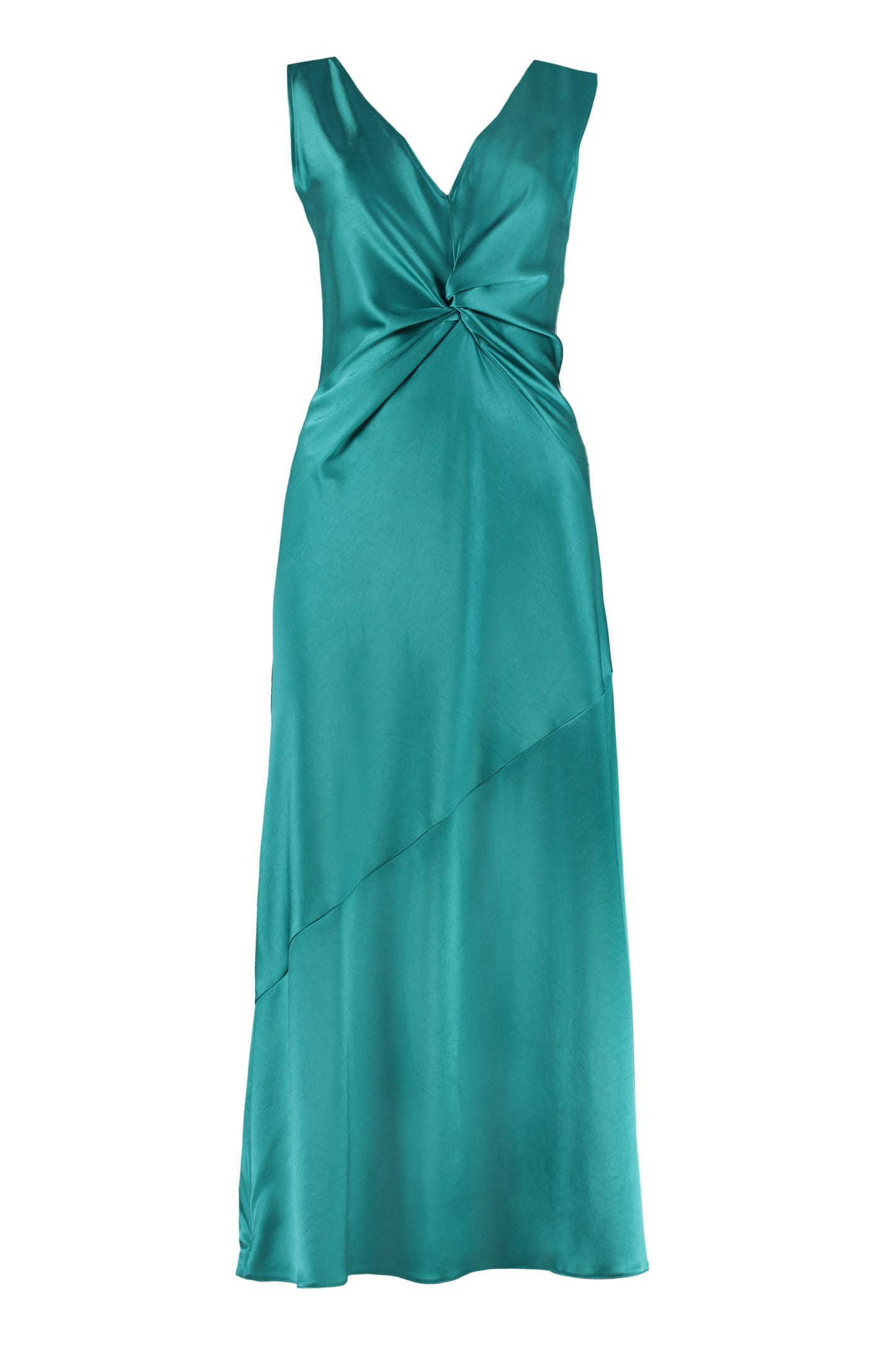 Pinko Minestra Satin Dress