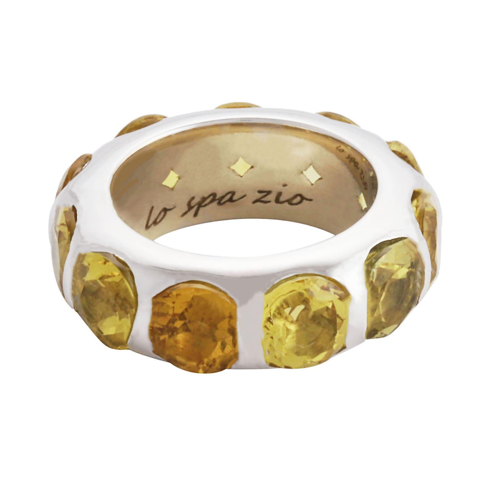 Lo Spazio Yellow Beryl Ring