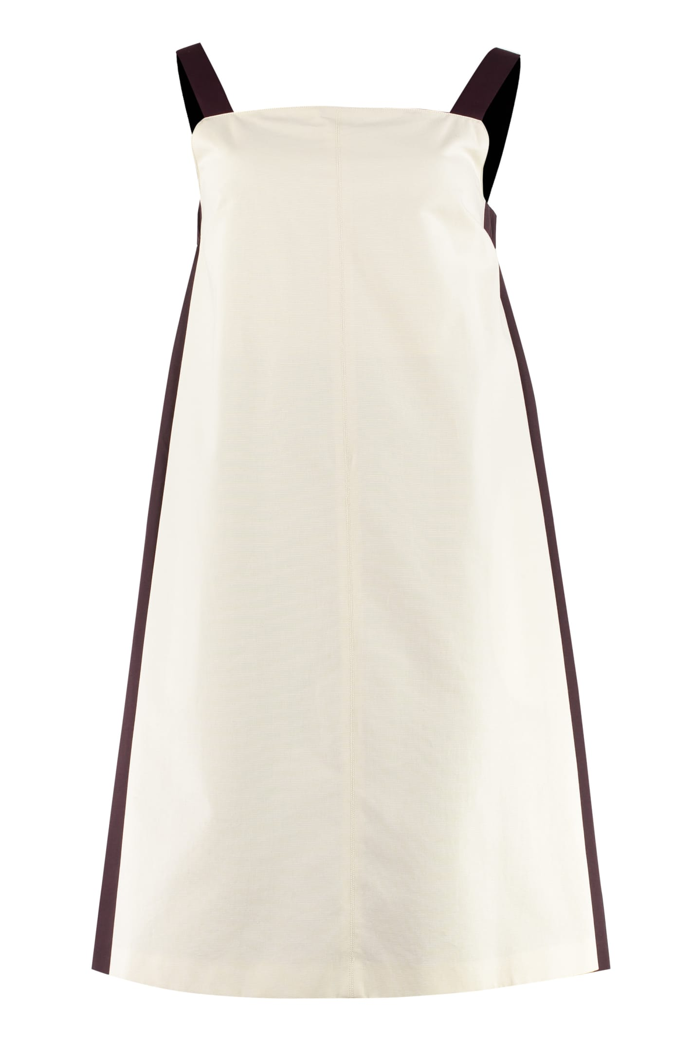 Weekend Max Mara Canoa Bicolor Cotton Dress