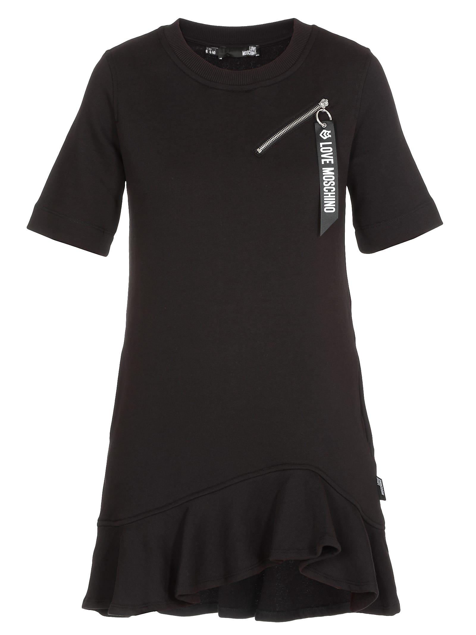 Love Moschino Dress With Zip