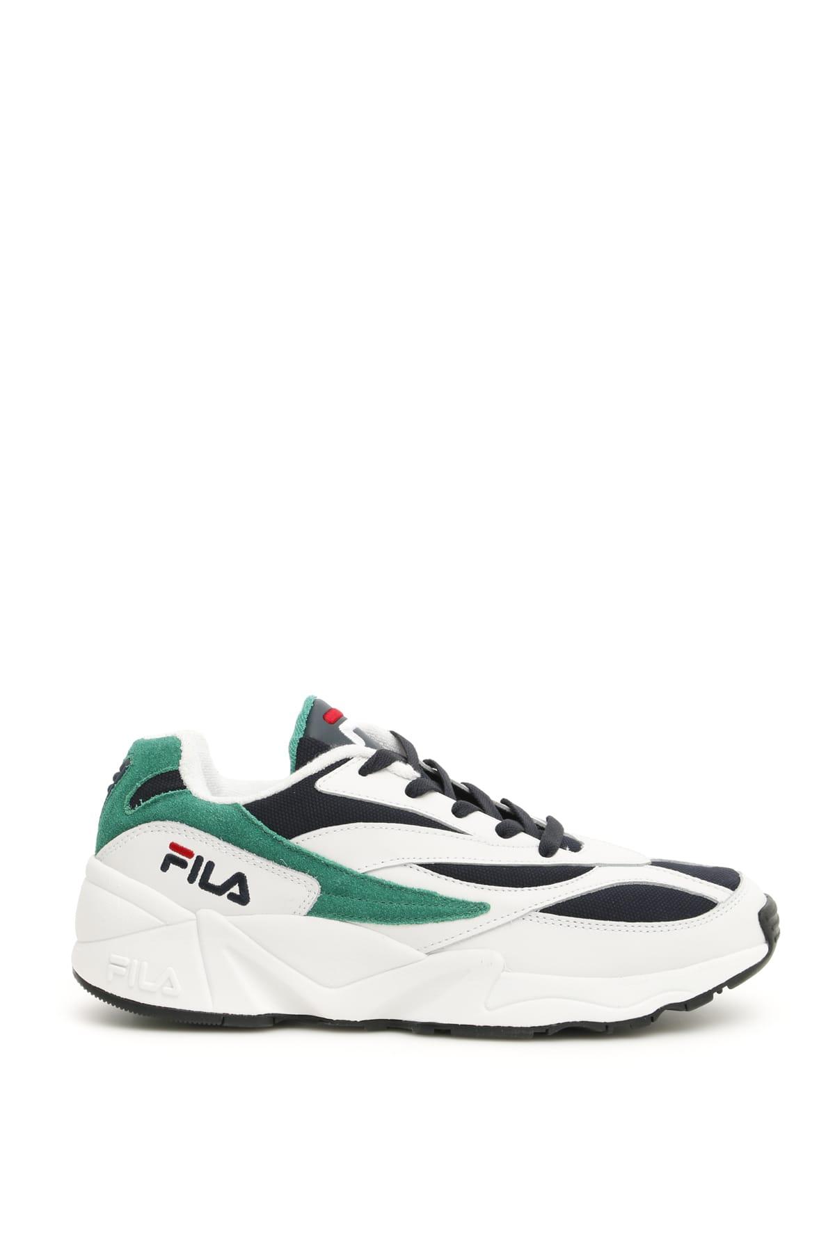Fila Fila Low Venom Heritage Sneakers - WHITE GREEN NAVY ...
