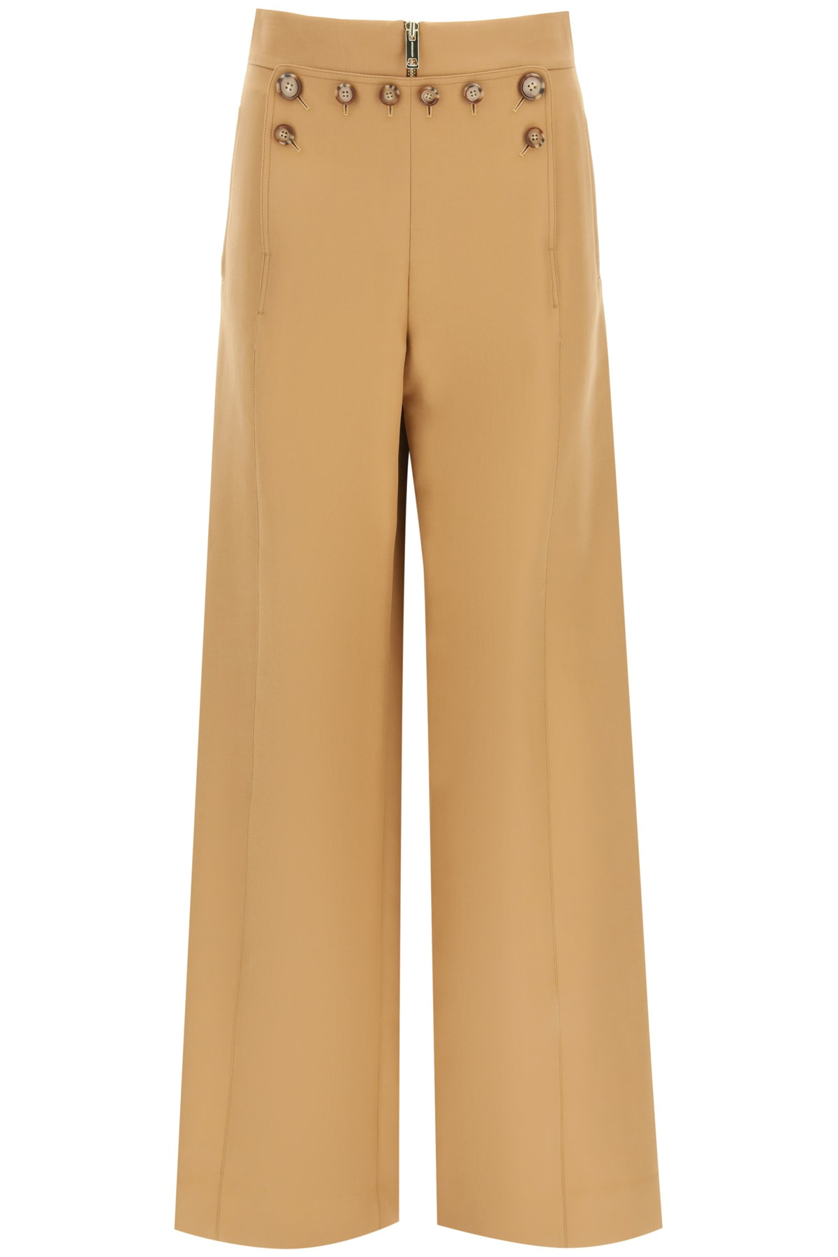 Burberry Sailor Trousers With Buttons