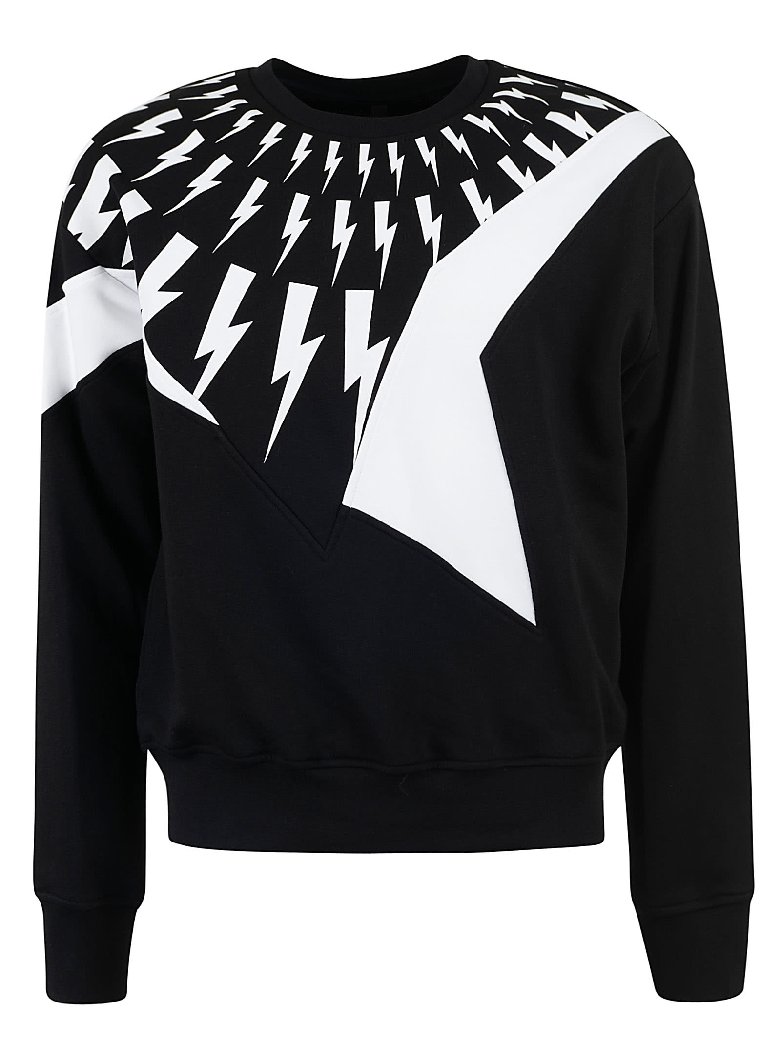 Neil Barrett Bolt Printed Sweatshirt