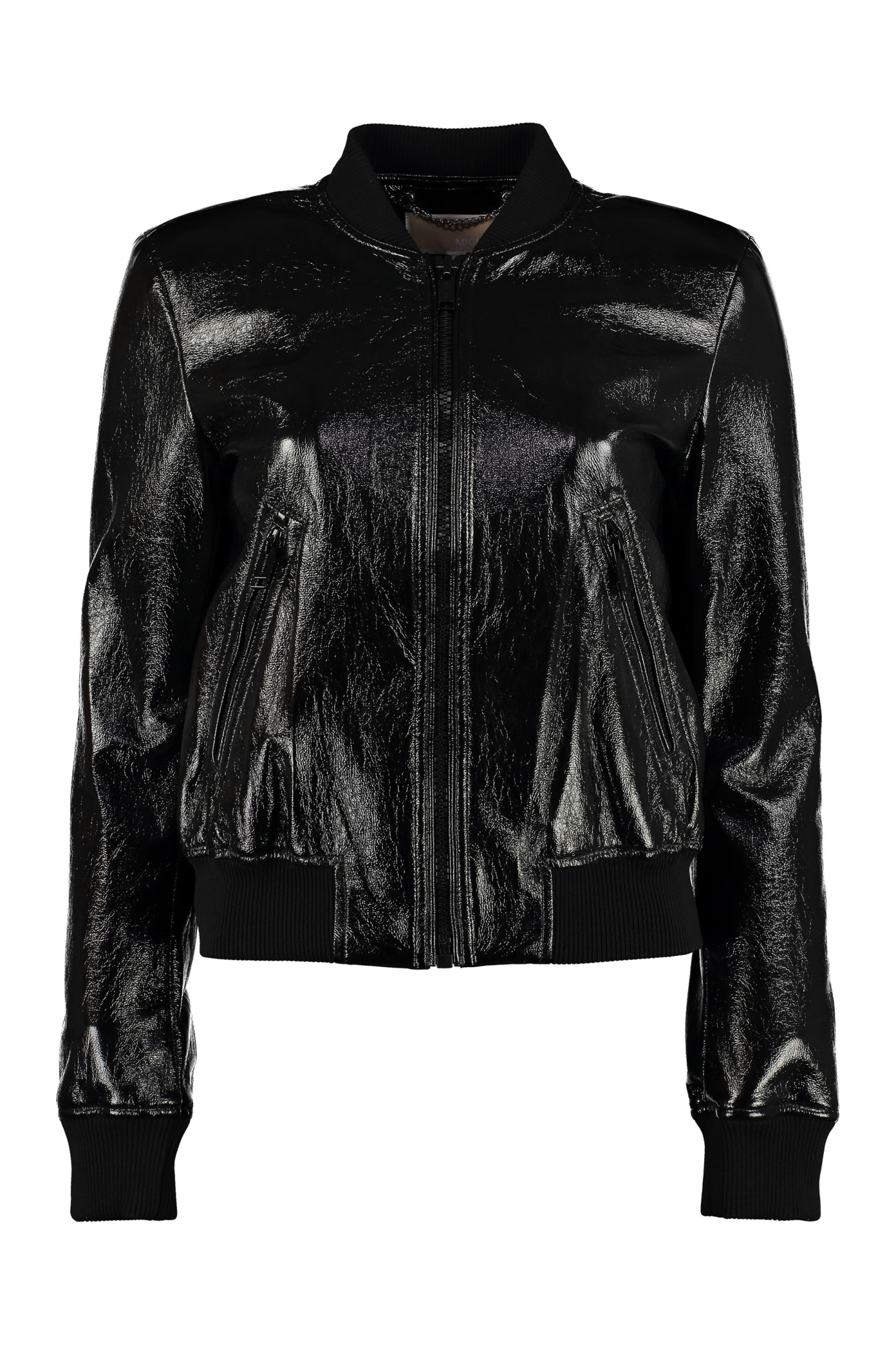 wholesale online choose latest offer Best price on the market at italist | MICHAEL Michael Kors MICHAEL Michael  Kors Faux Leather Jacket