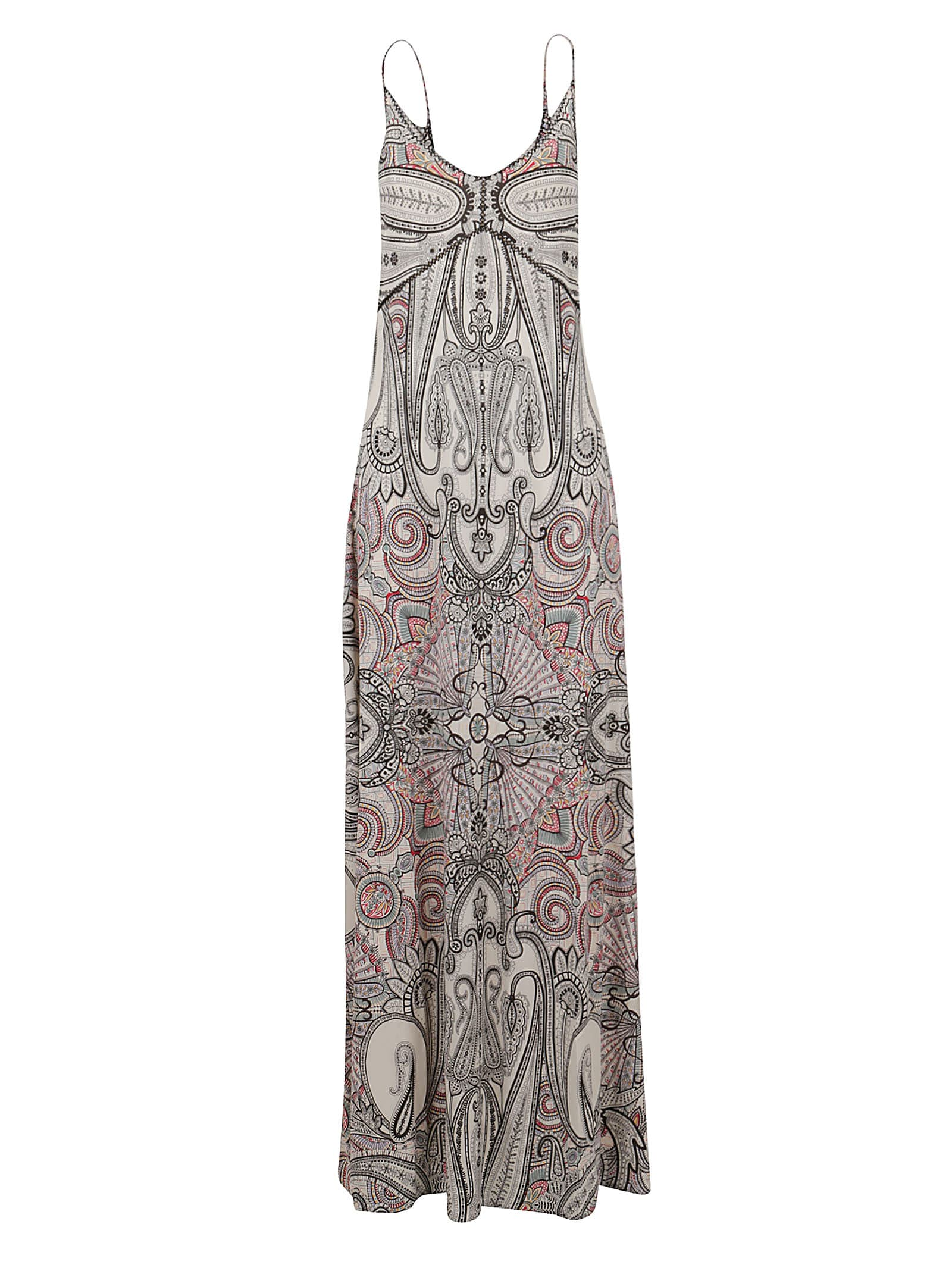 Buy Etro Paisley Print Sleeveless Maxi Dress online, shop Etro with free shipping