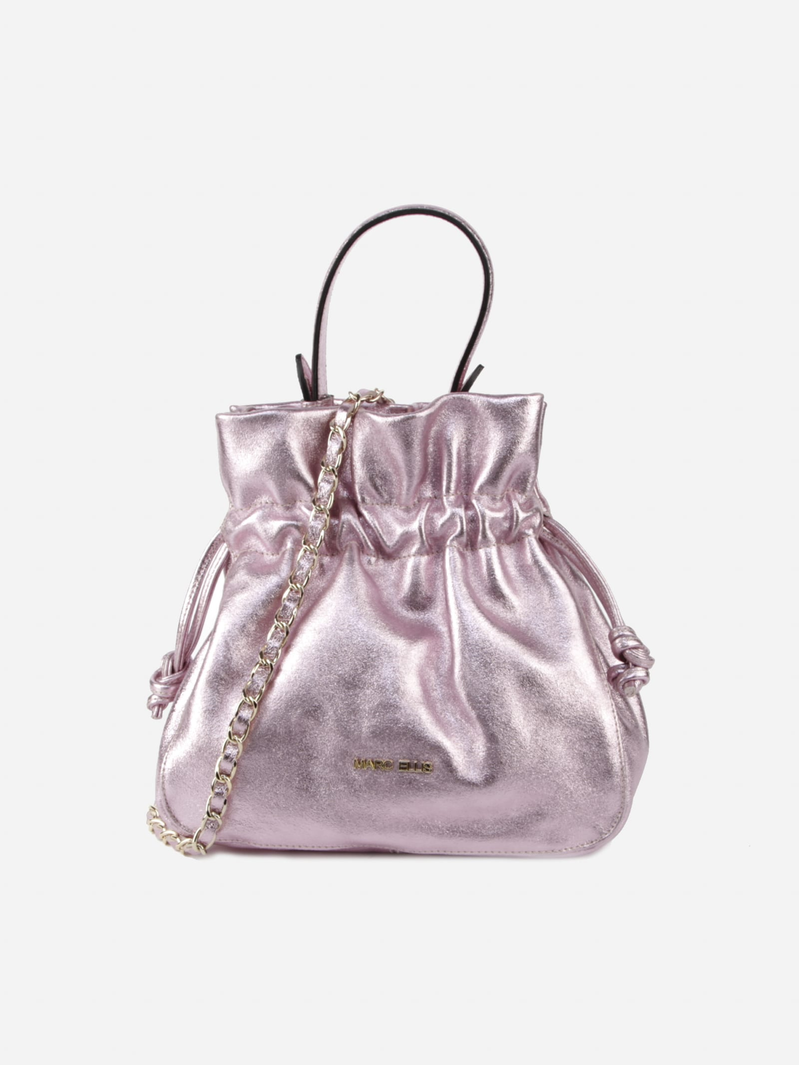 Concy Piper Handbag In Laminated Leather
