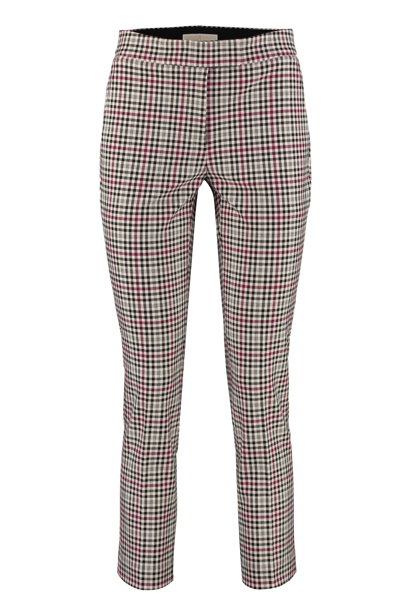 MICHAEL Michael Kors Stretch Fabric Cropped Trousers