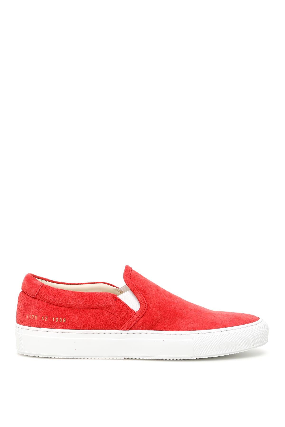 Common Projects Suede Slip-ons