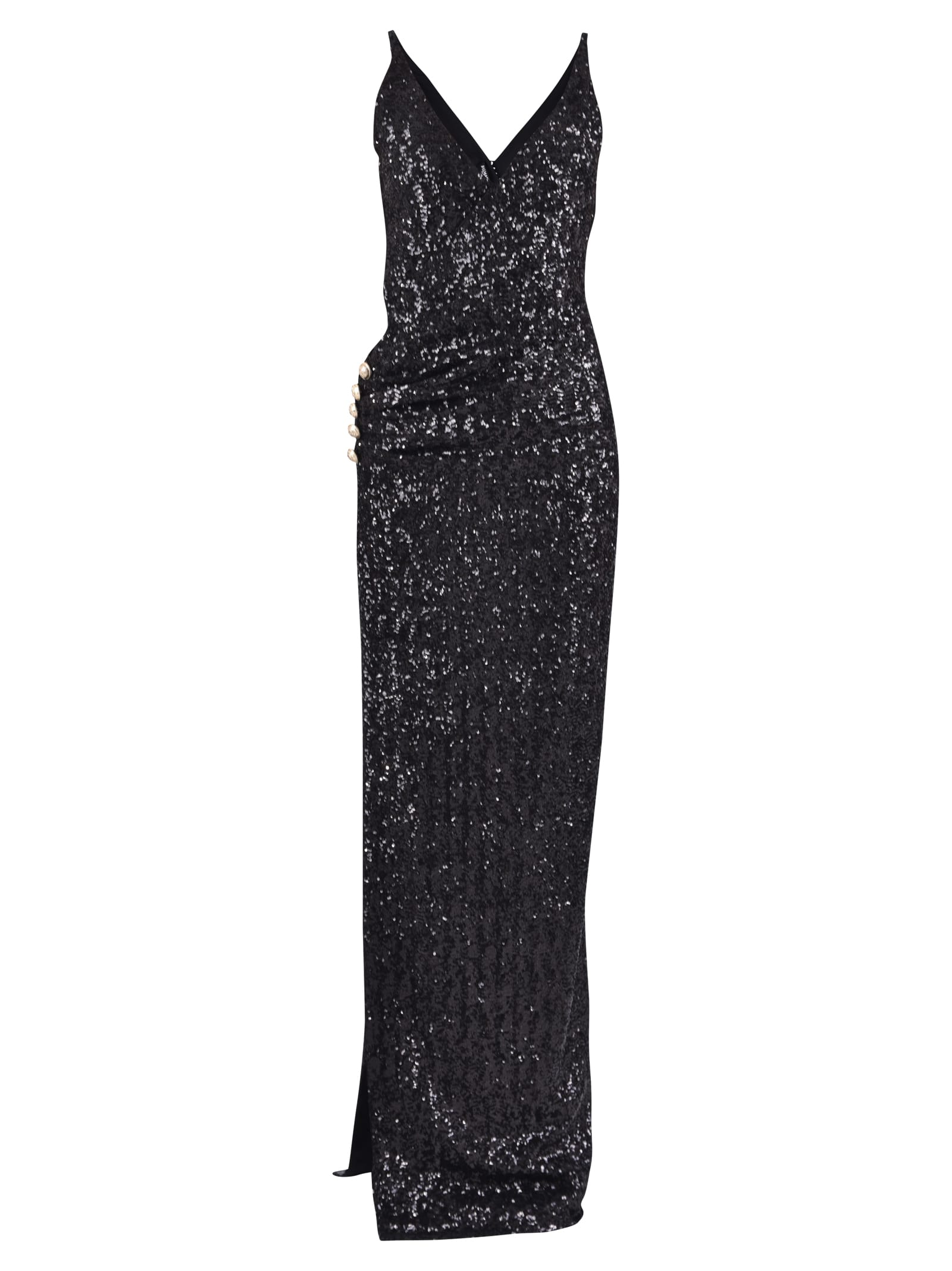 Balmain Sequinned Dress
