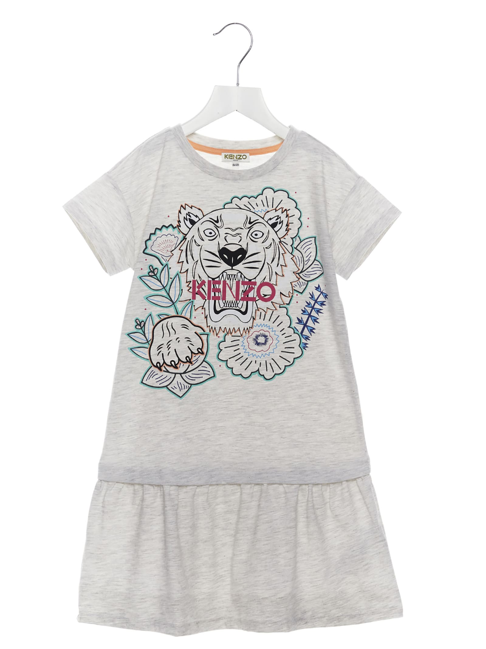 Buy Kenzo Kids tiger Dress online, shop Kenzo Kids with free shipping