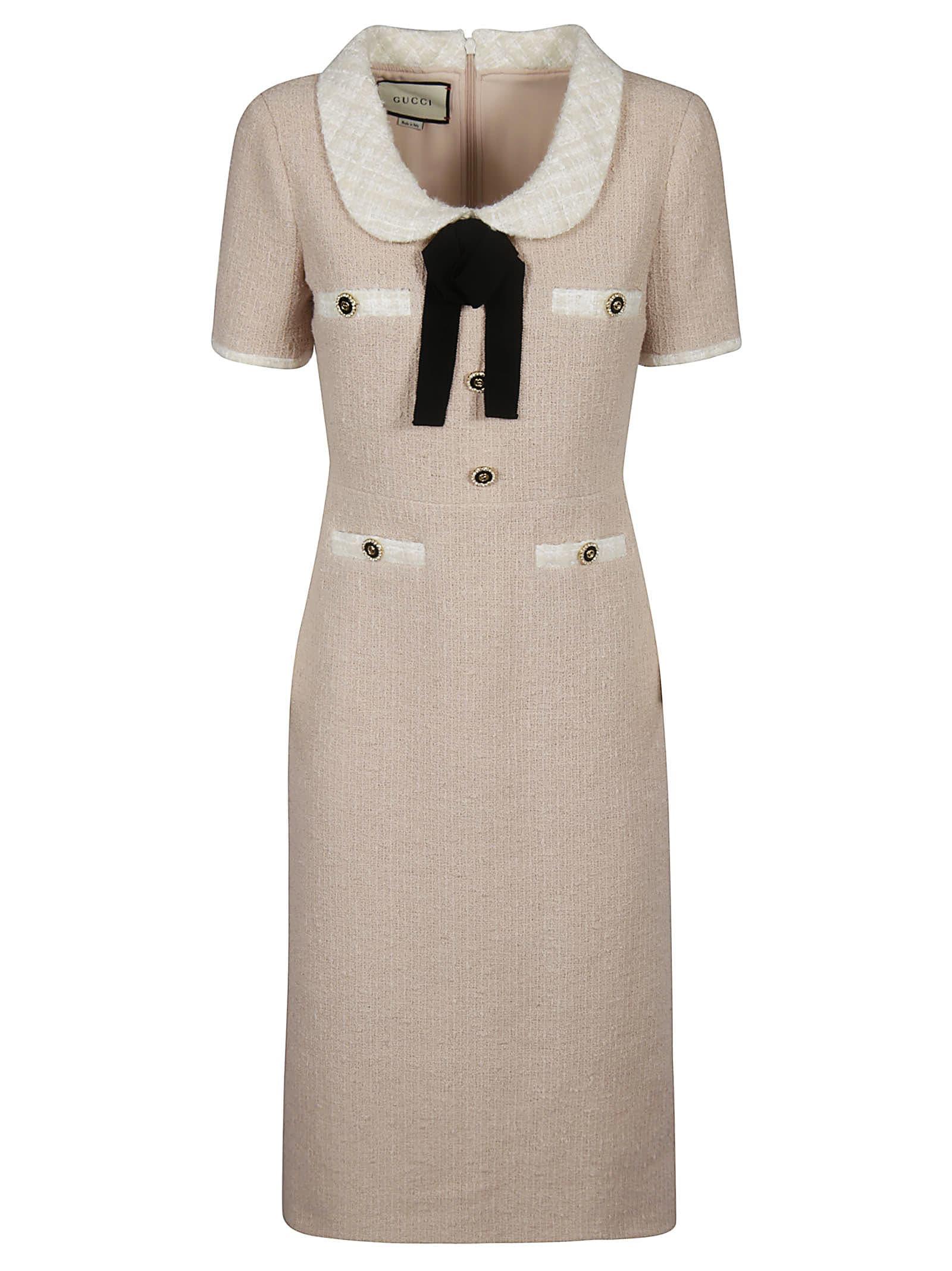 Gucci Tweed Boucle Dress