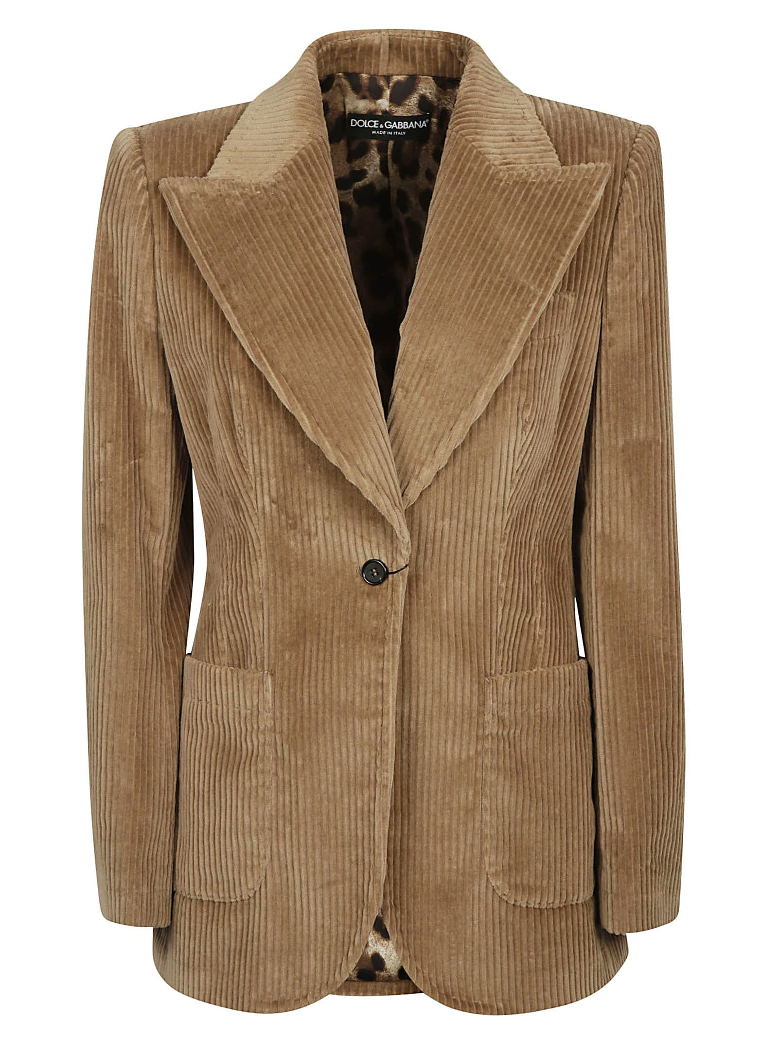 Dolce & Gabbana Single-buttoned Blazer