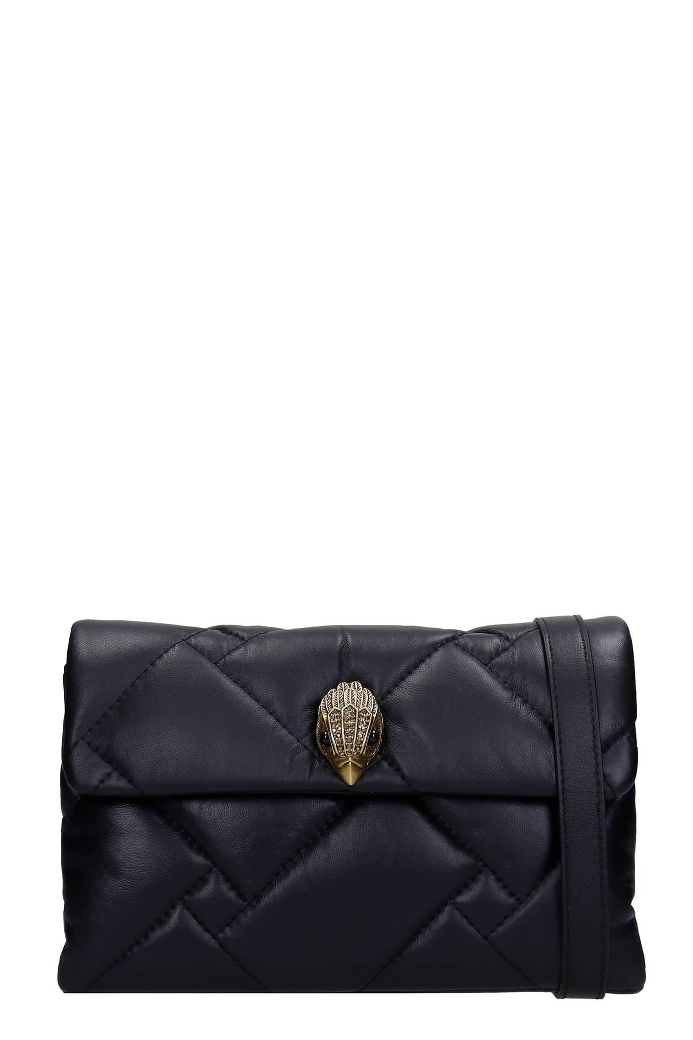 Md Kensington Shoulder Bag In Black Leather