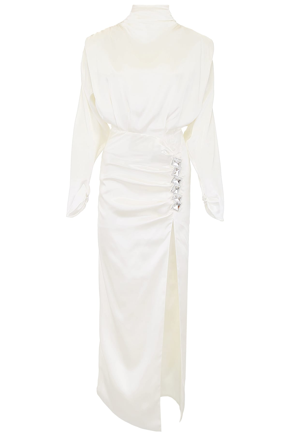 Alessandra Rich High Neck Dress