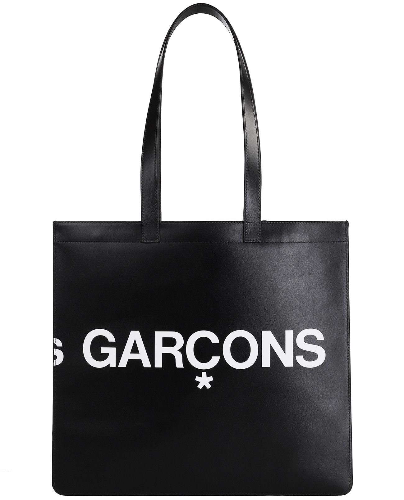 COMME DES GARÇONS COMME DES GARCONS WALLET BLACK HL TOTE