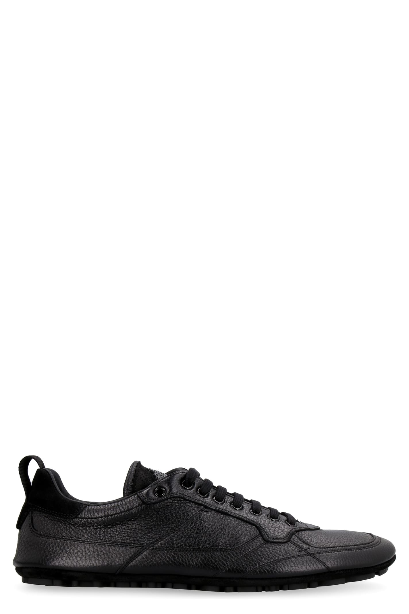 Dolce & Gabbana King Driver Leather Low-top Sneakers
