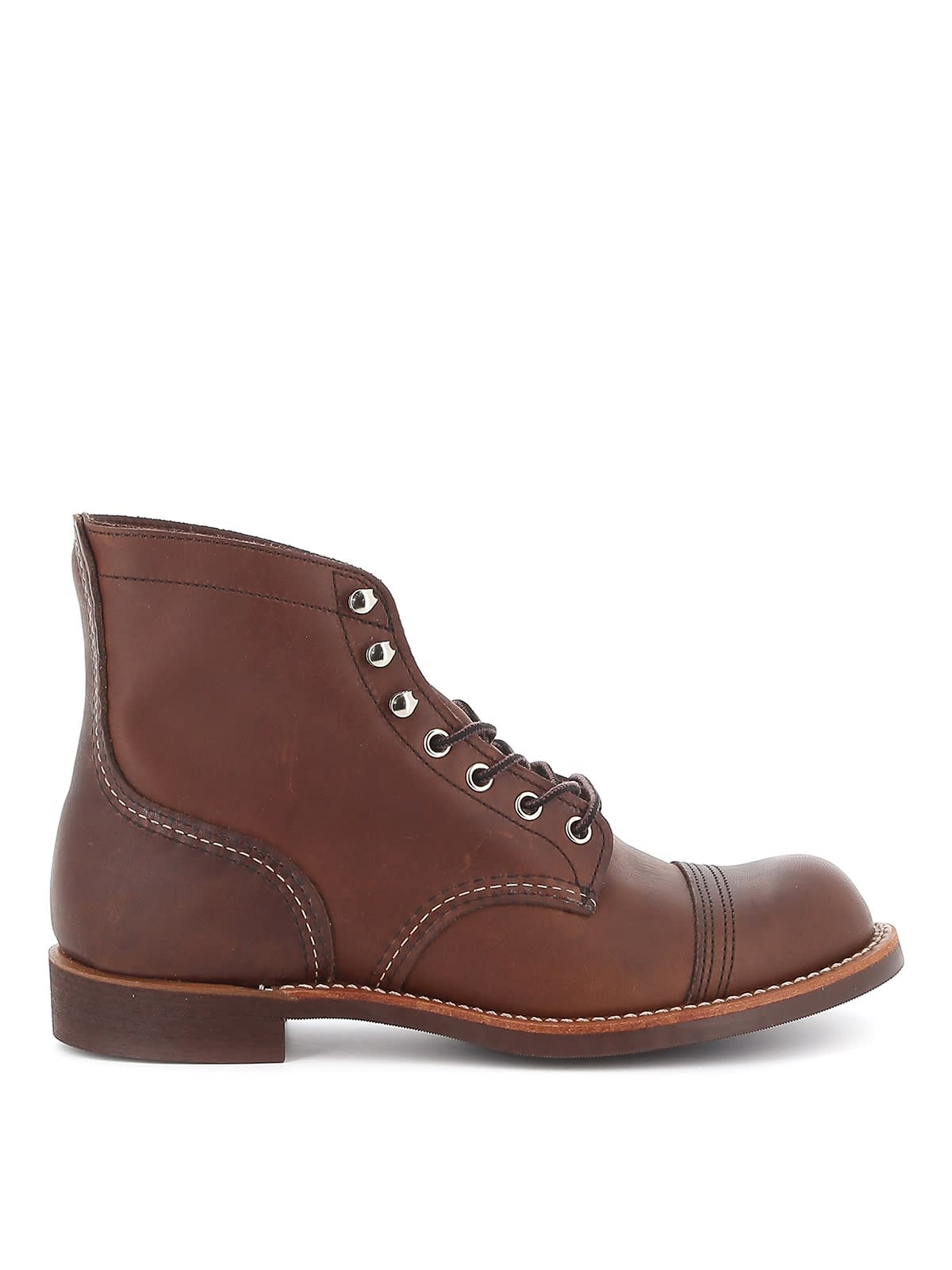 Red Wing Boot Leather Iron Ranger Amber Harness