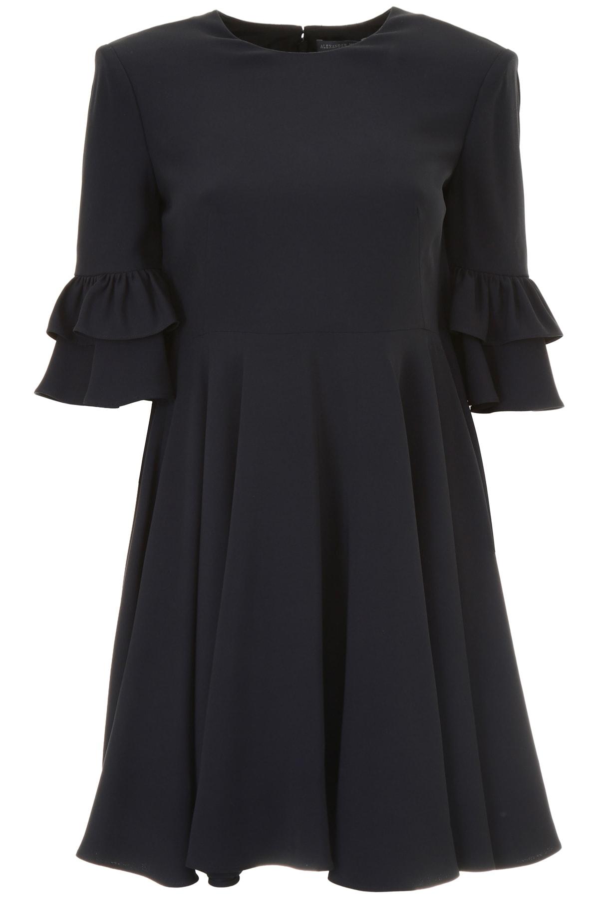 Alexander McQueen Dress With Ruffles