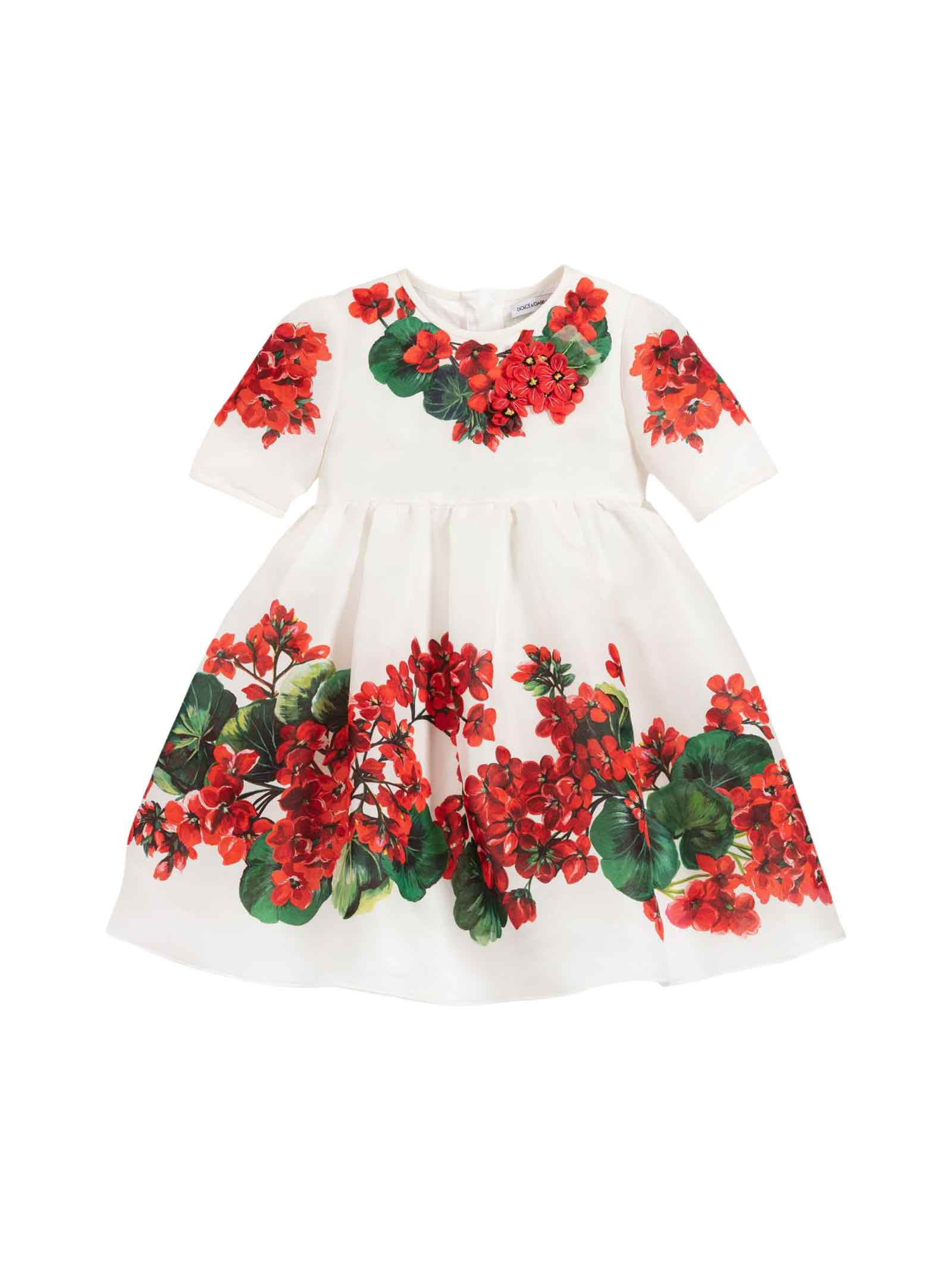 Dolce & Gabbana Dolce E Gabbana Kids White Dress