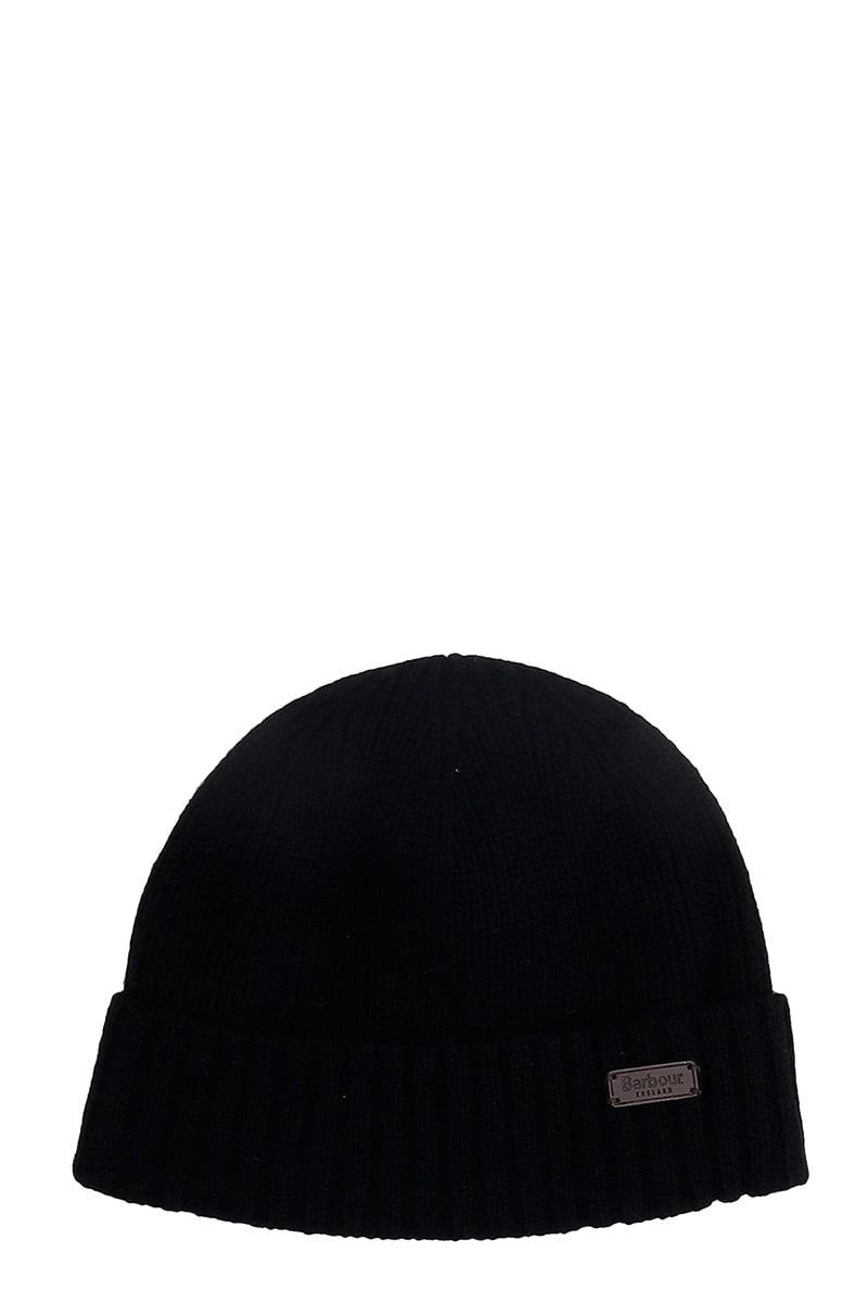 Barbour CARLTON HATS IN BLACK WOOL