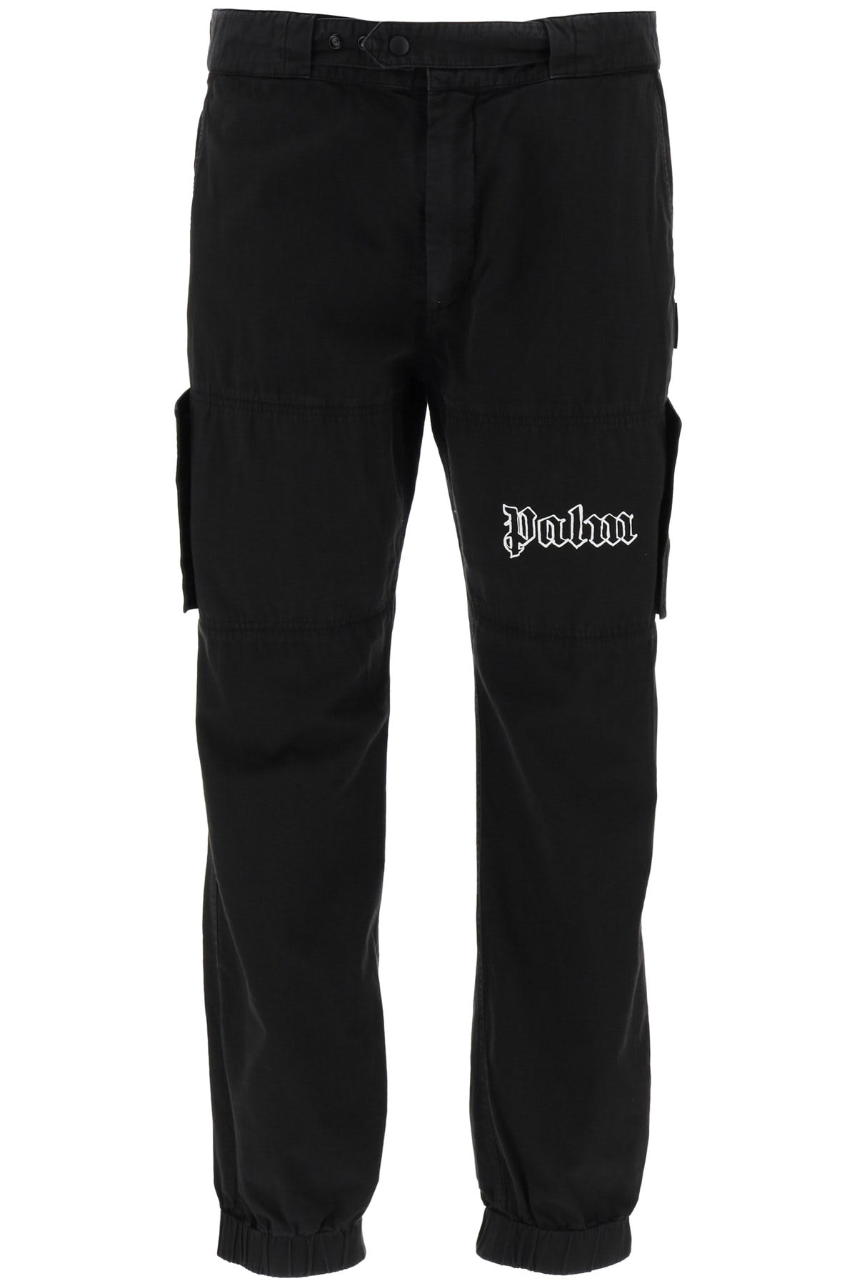 PALM ANGELS CARGO PANTS WITH LOGO