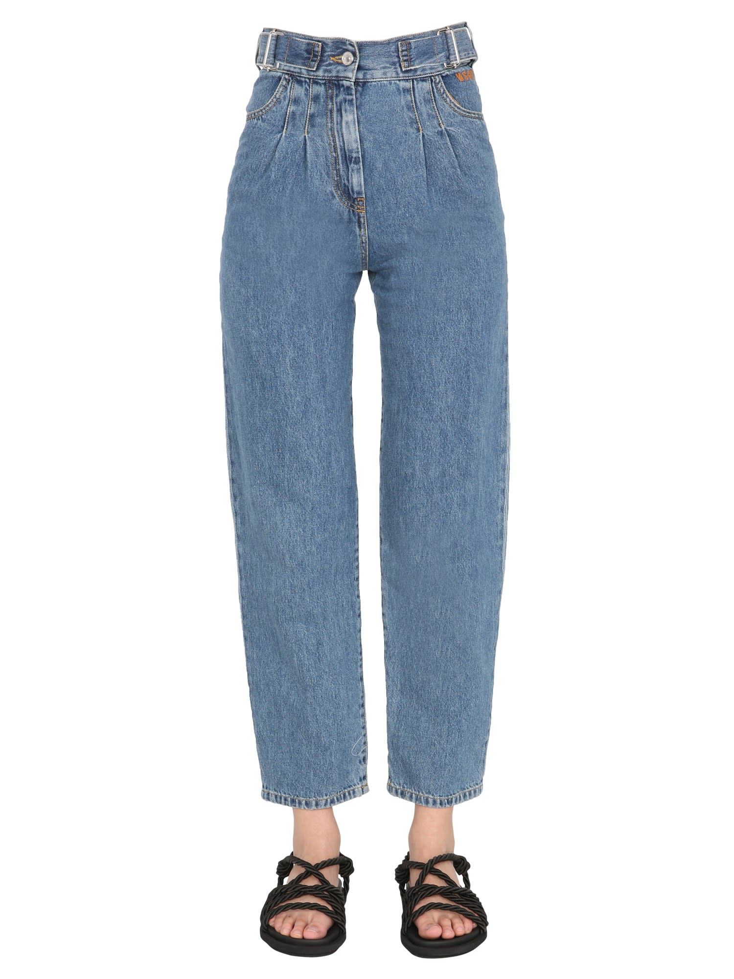 Msgm Jeans REGULAR FIT JEANS