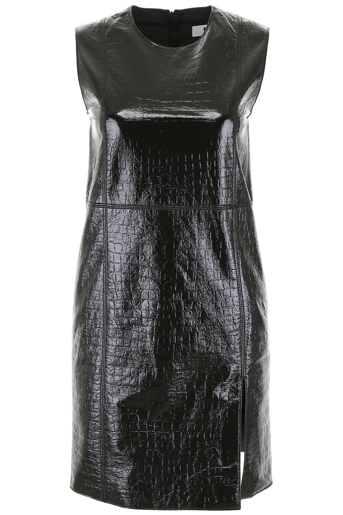 Photo of  MSGM Croc-print Mini Dress- shop MSGM  online sales