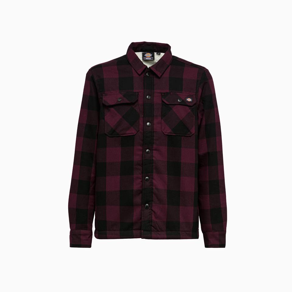 Sherpa Lined Shirt Dk0a4xgrmr01