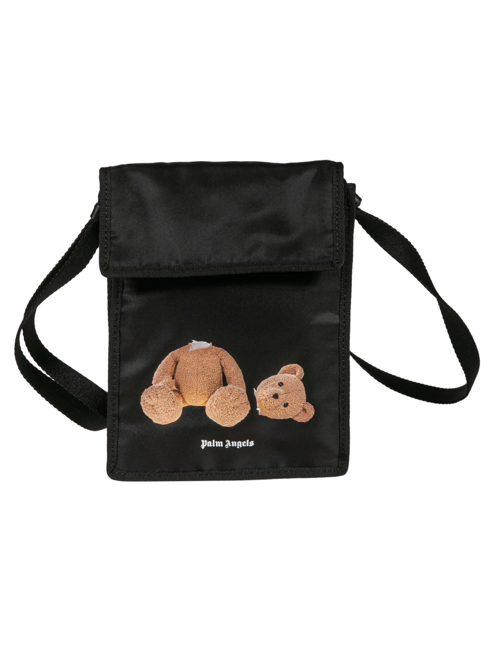 Palm Angels BEAR POCKET SHOULDER BAG
