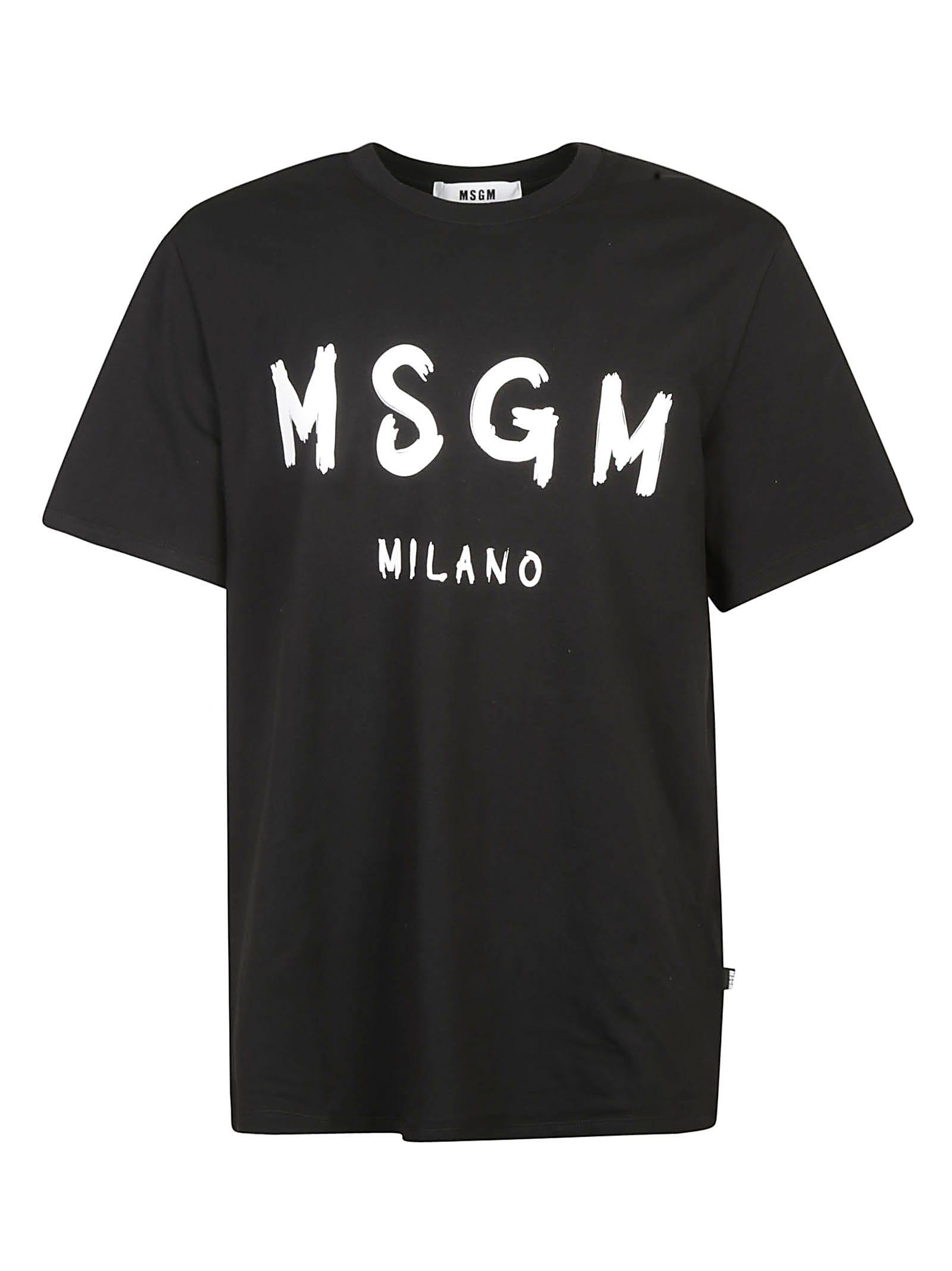 Msgm Cottons MILANO LOGO T-SHIRT