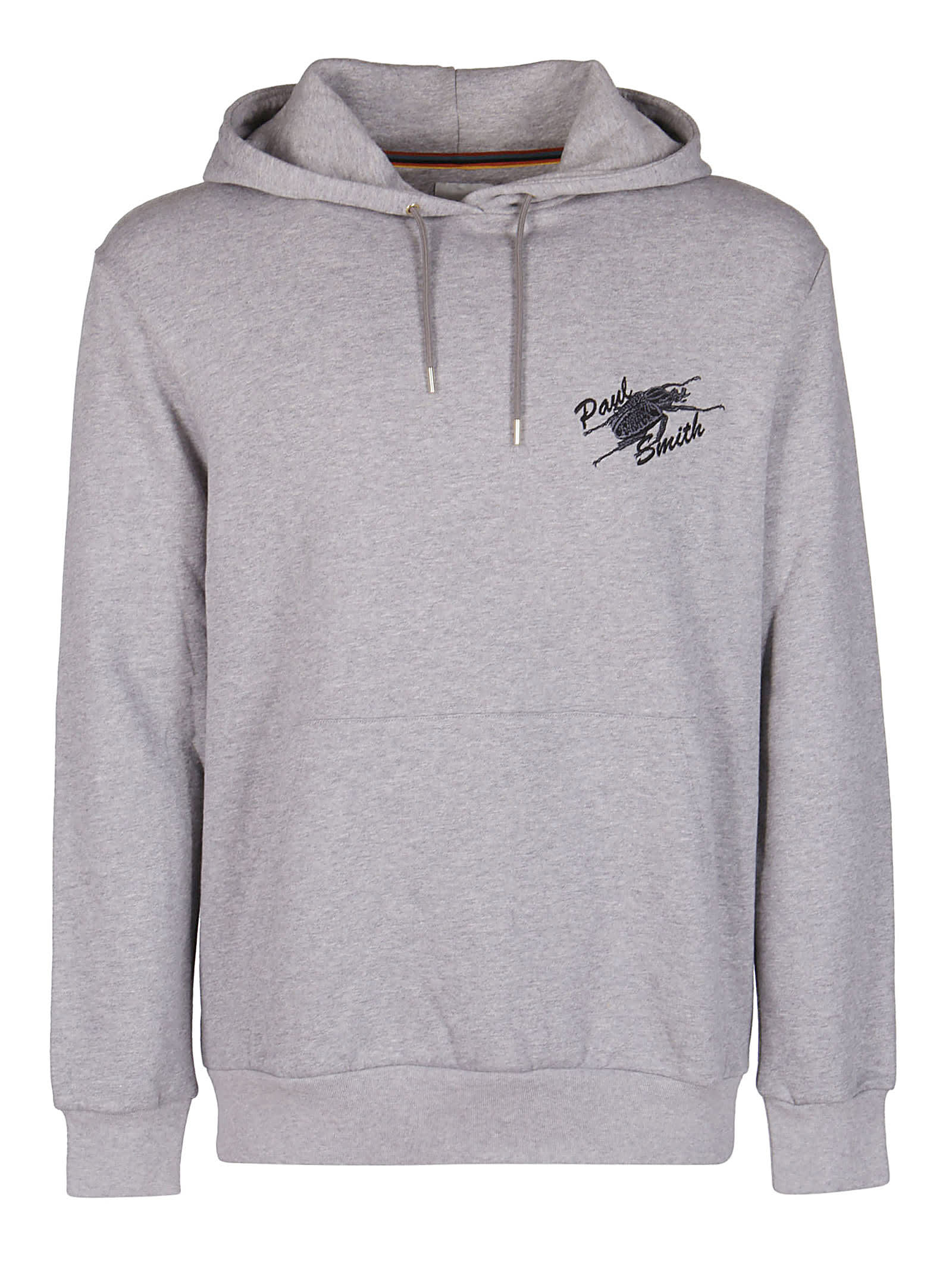 Paul Smith Grey Cotton Hoodie