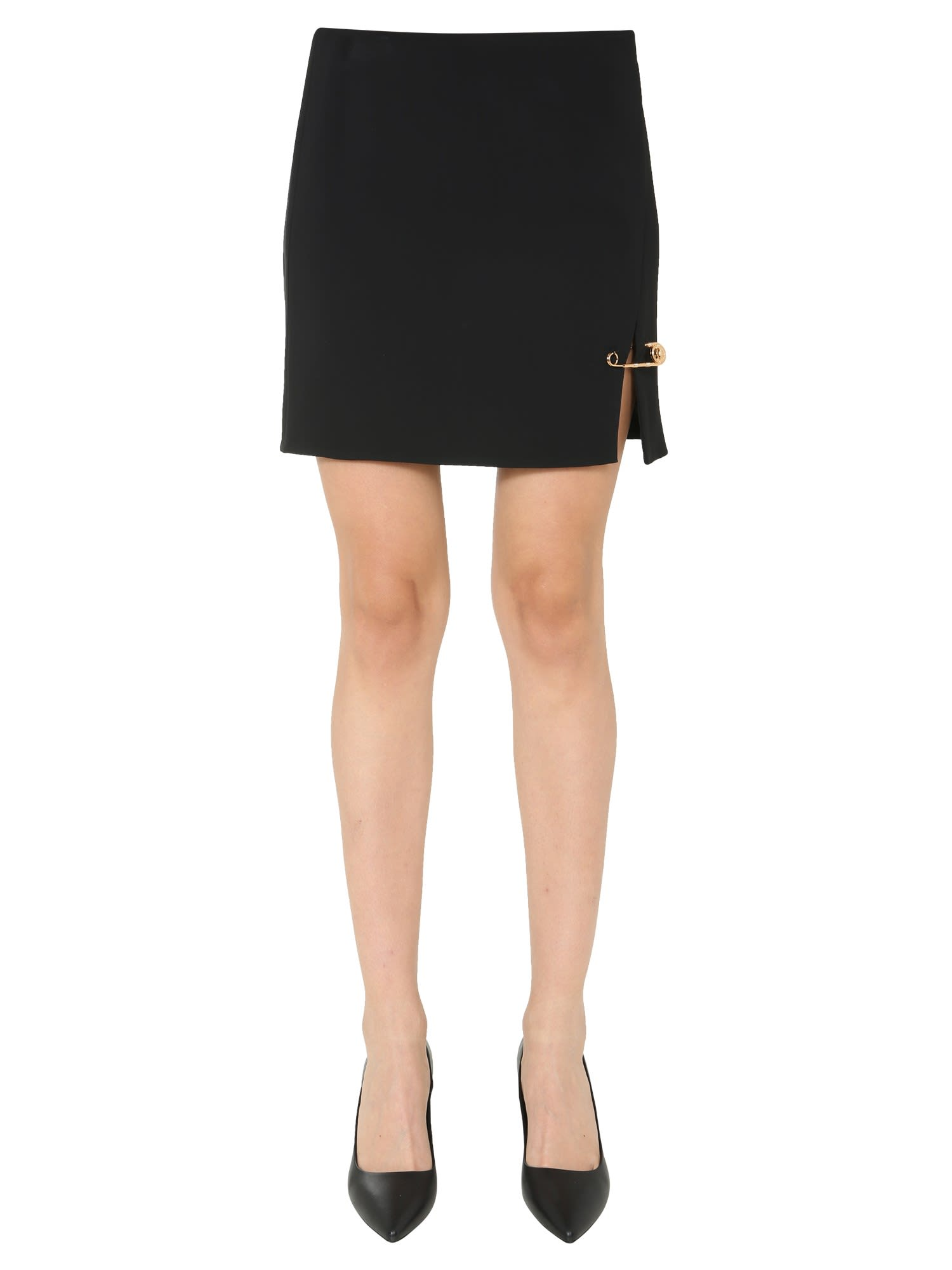 Versace MINI SKIRT WITH DETAIL