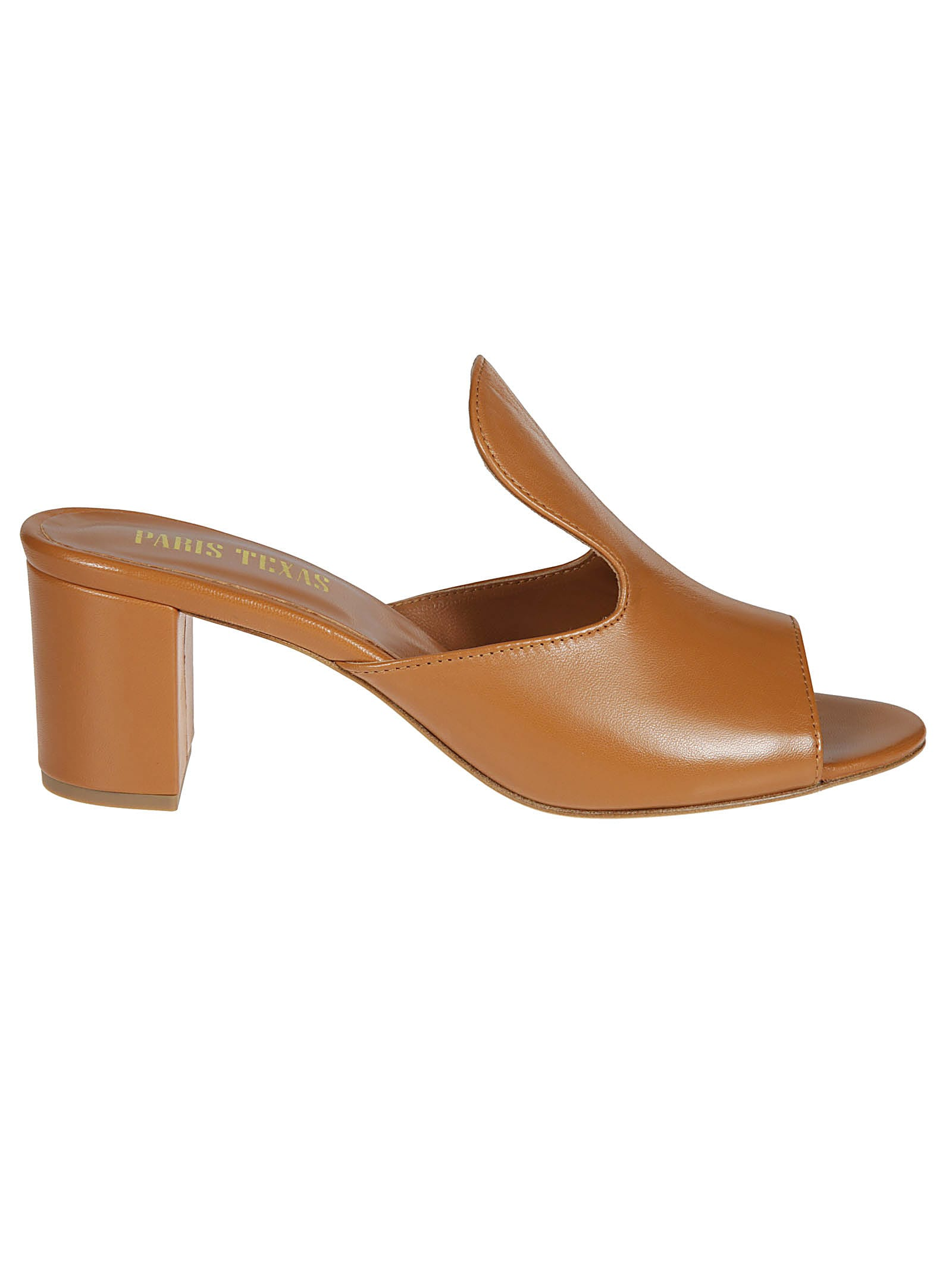 Paris Texas Chunky Heel Mules