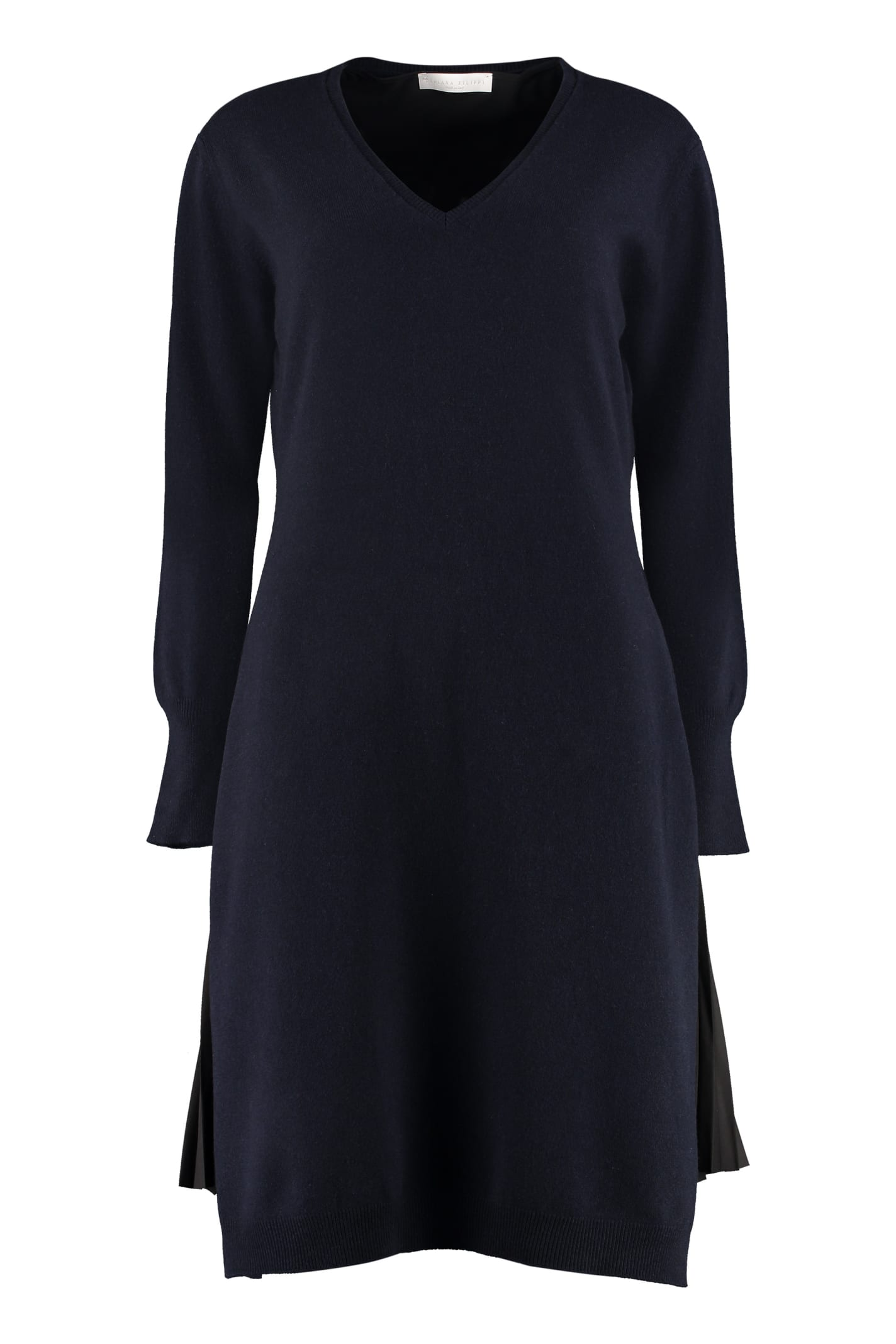 Fabiana Filippi Wool Blend Sweater Dress