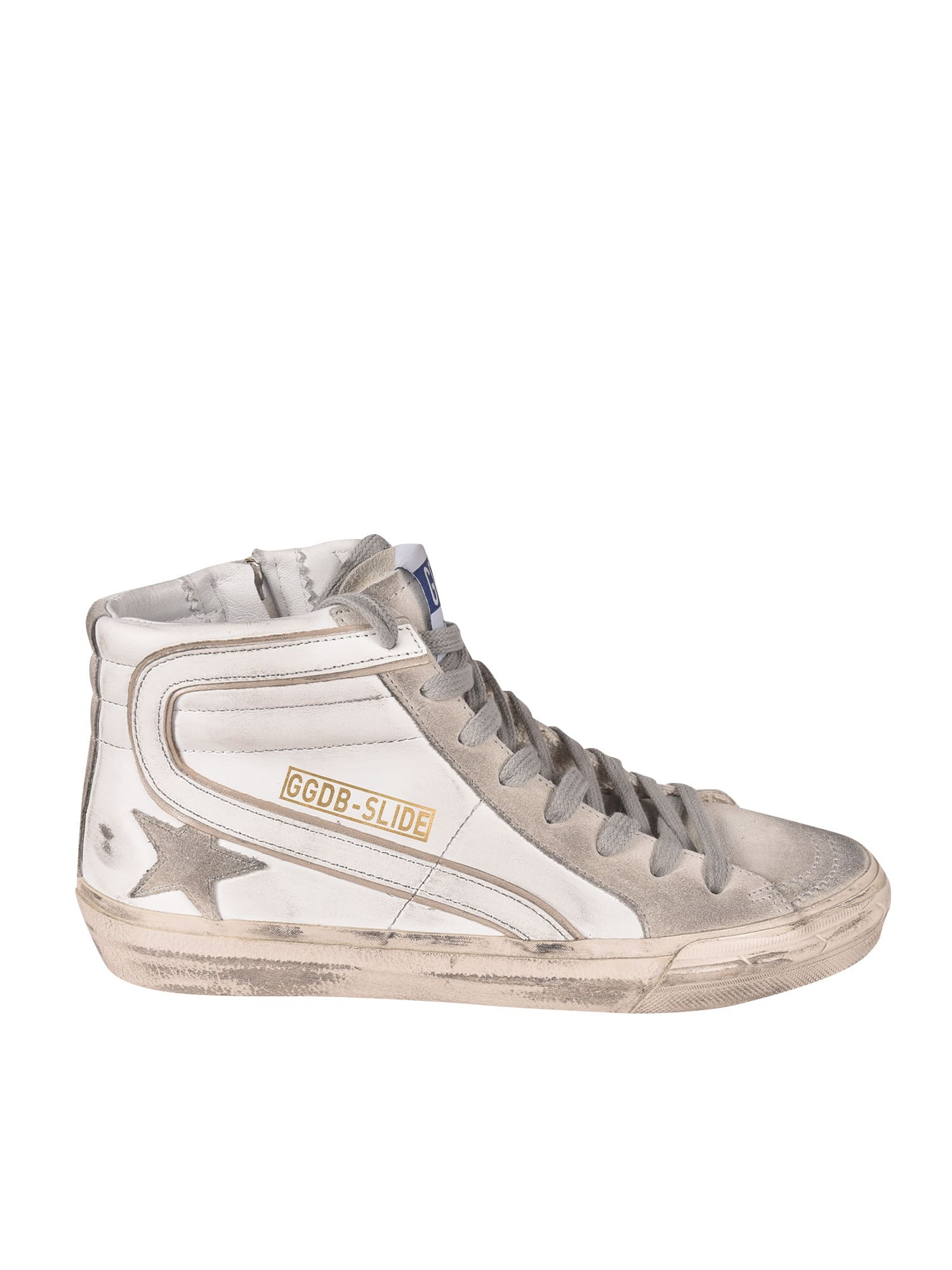 Buy Golden Goose Classic Slide Sneakers online, shop Golden Goose shoes with free shipping