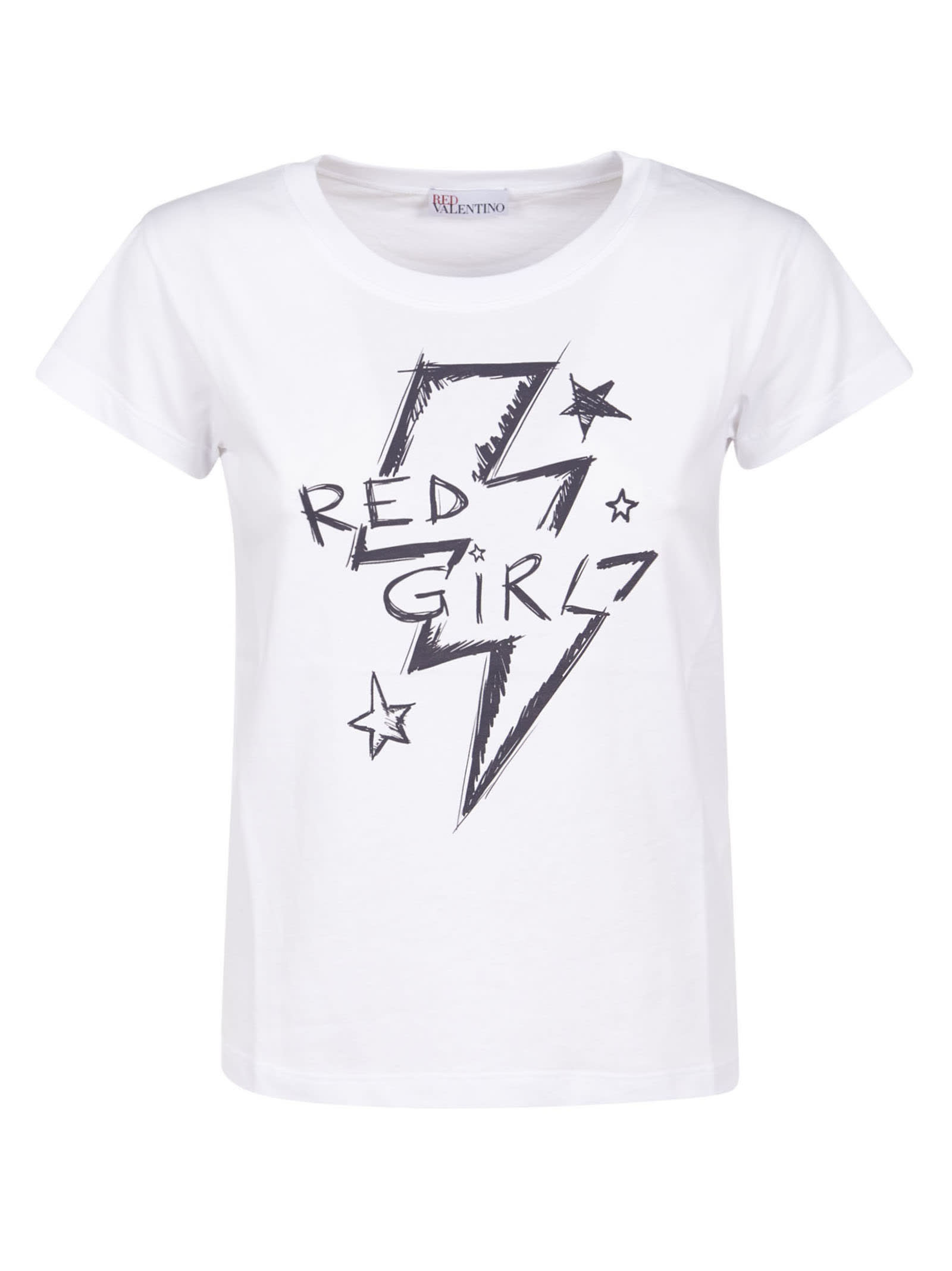 Red Girl Printed T-shirt from RED ValentinoComposition: 100% Cotton