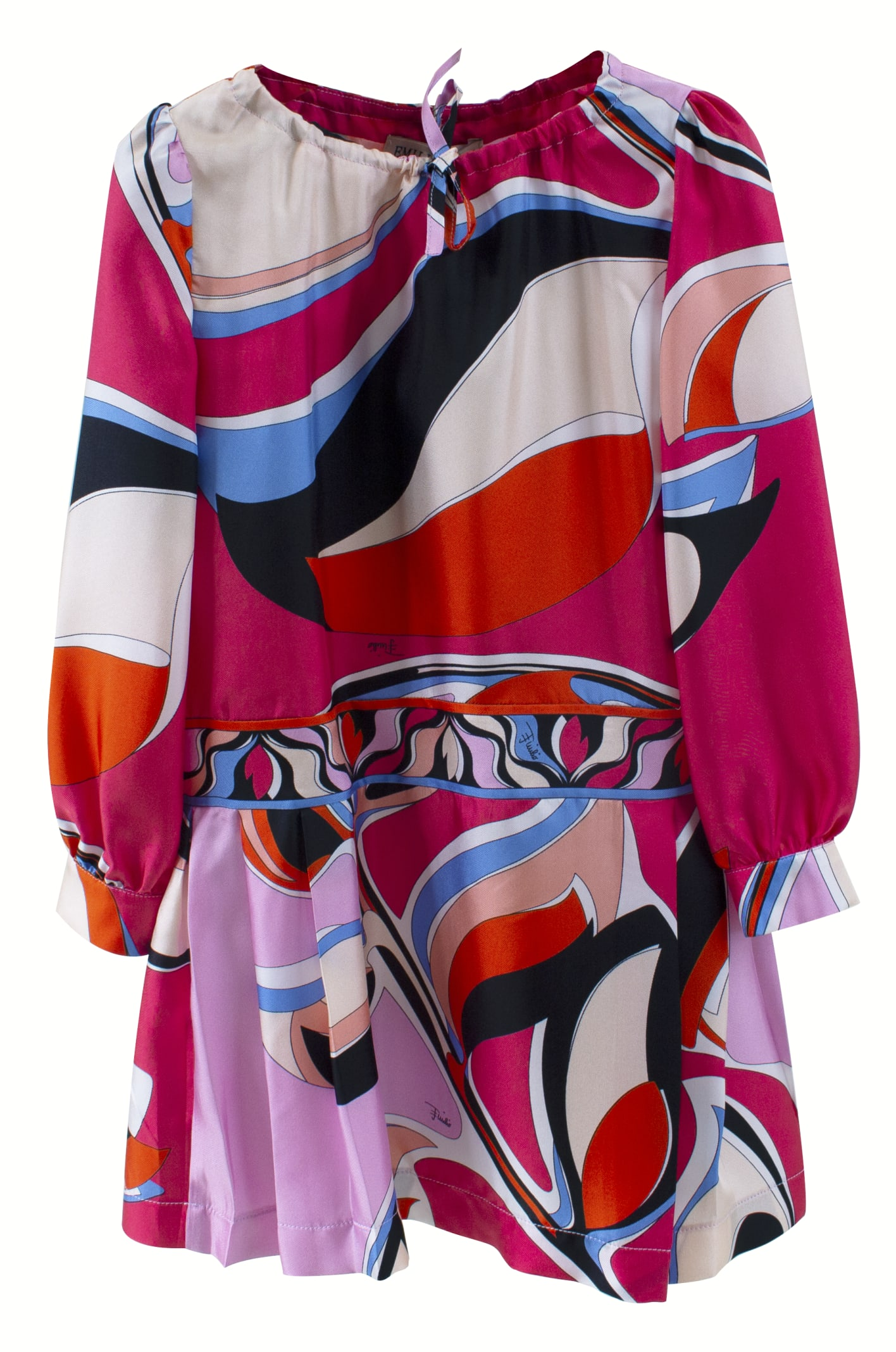 Buy Emilio Pucci Dress In Silk Girl Emilio Pucci online, shop Emilio Pucci with free shipping