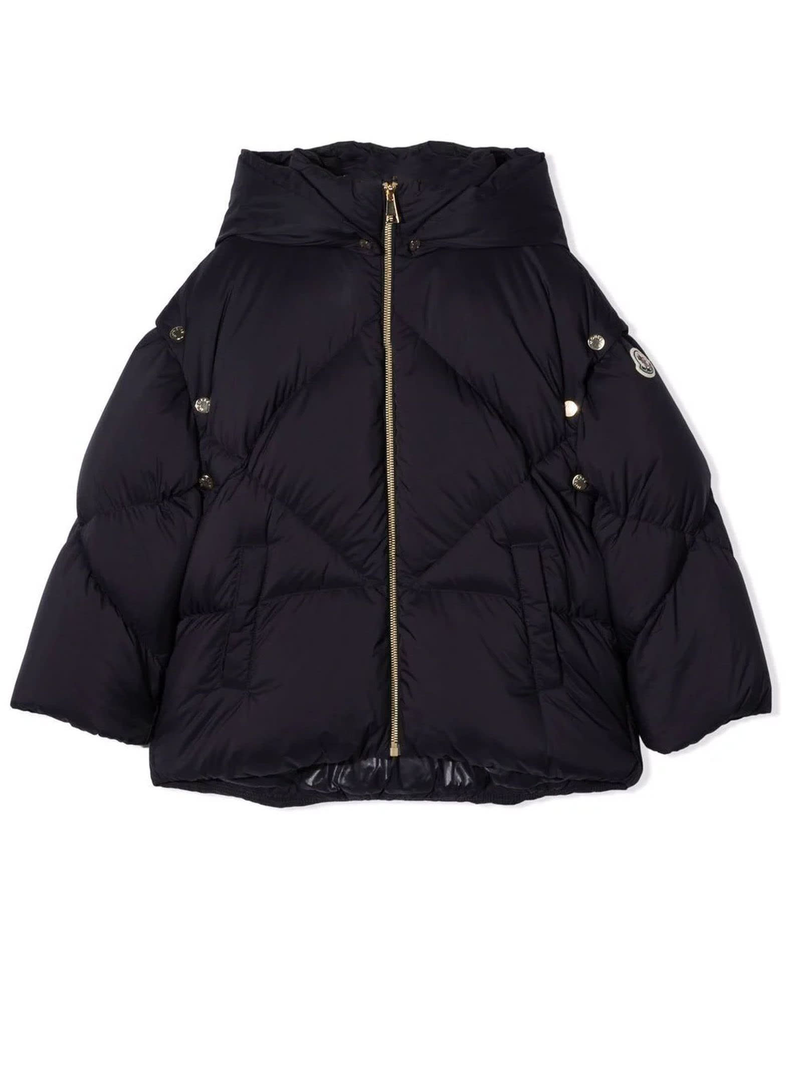 Moncler Blue Feather Down Jacket