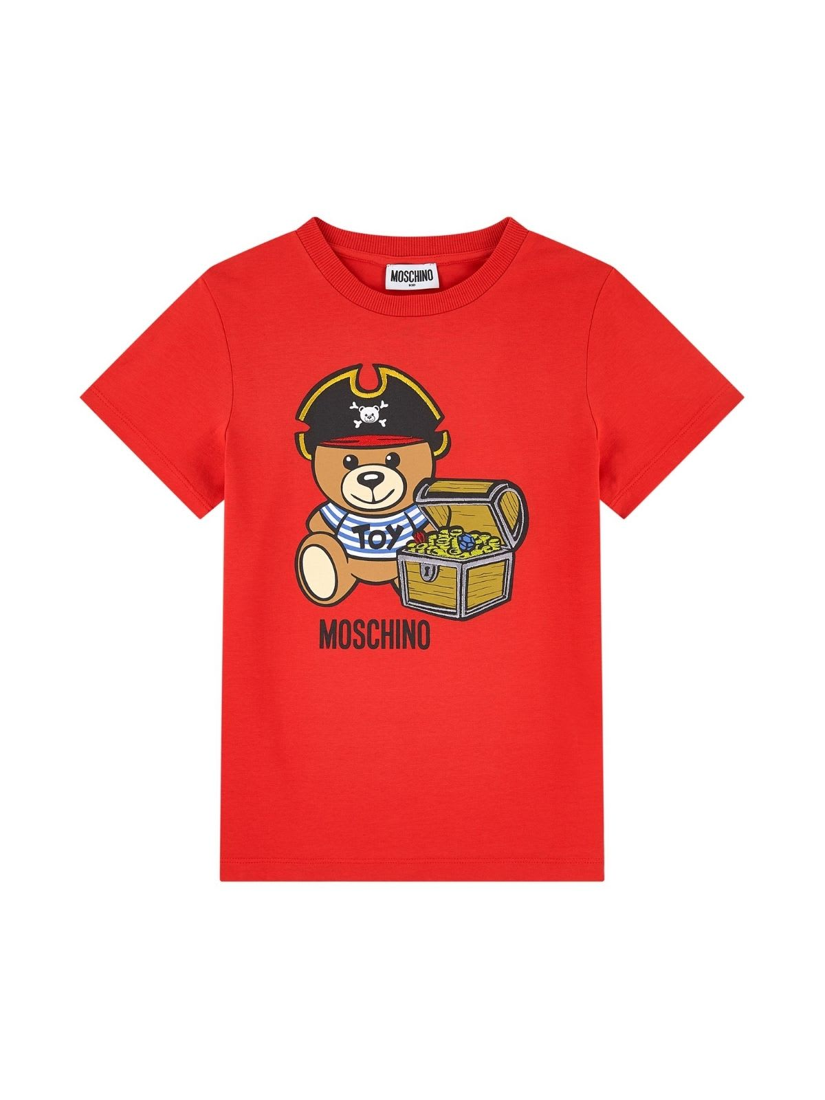 Moschino T-SHIRT W/PIRATE TEDDY