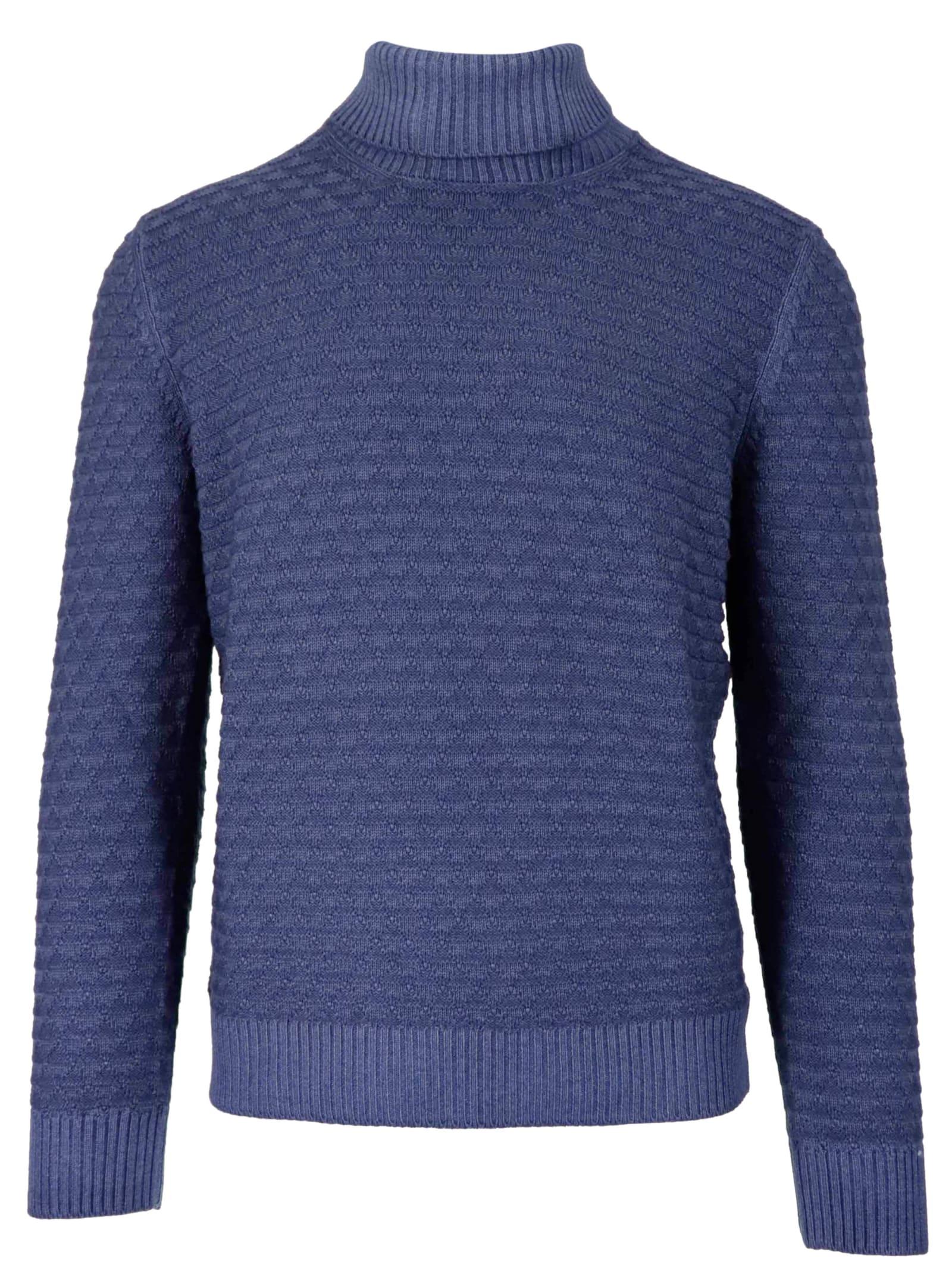 Gran Sasso 100% Wool Top-wear