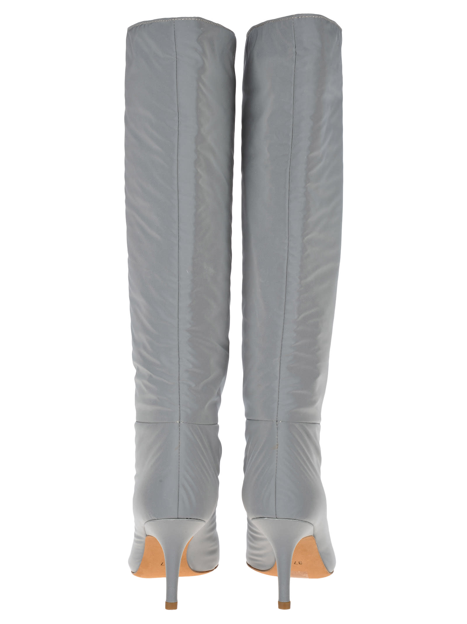 official photos 01198 fa558 Best price on the market at italist   Yeezy Yeezy Kanye West Yeezy  Reflective Knee High Boots
