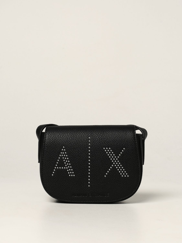 Armani Exchange Mini Bag Armani Exchange Bag In Textured Synthetic Leather