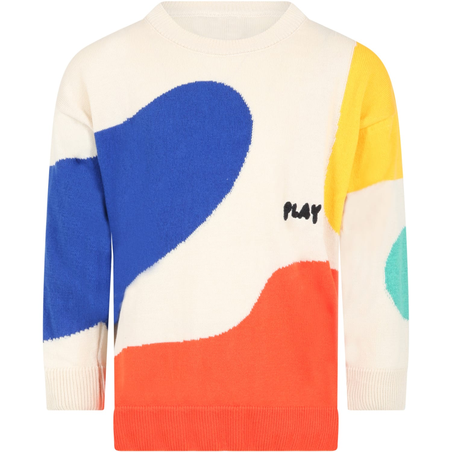 Bobo Choses Cottons MULTICOLOR SWEATER FOR KIDS