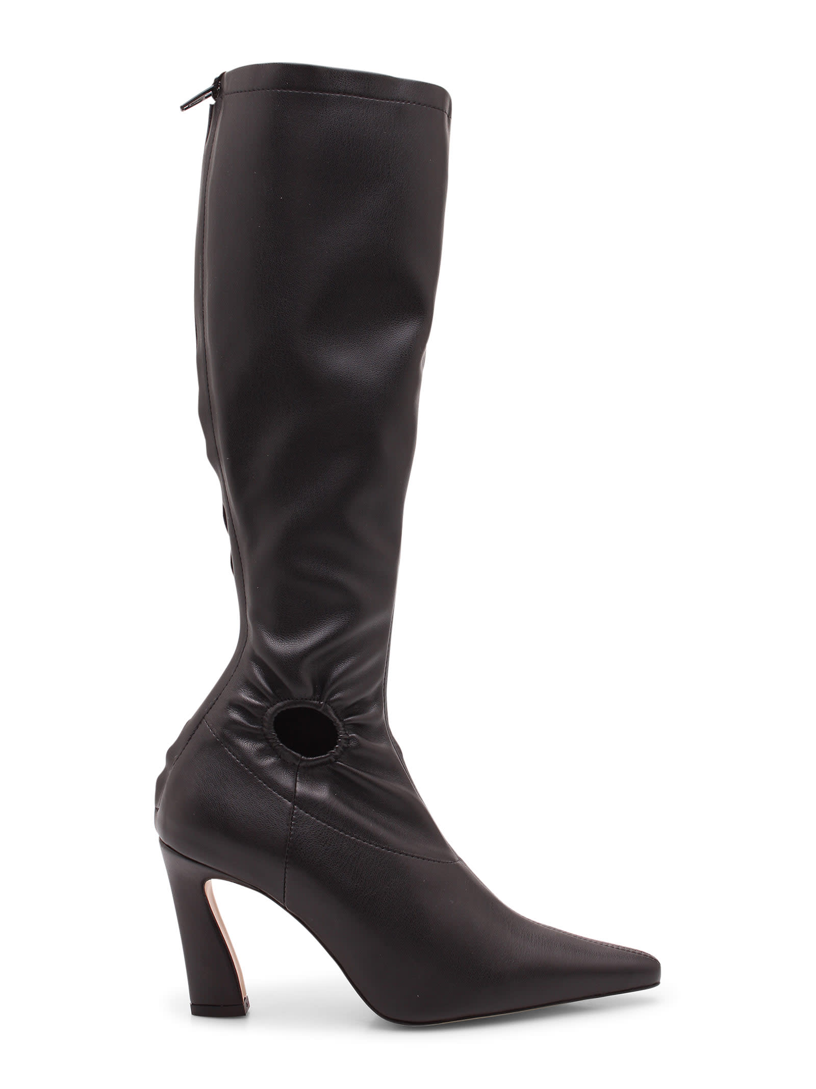 fory Knee Vegan Leather Boots