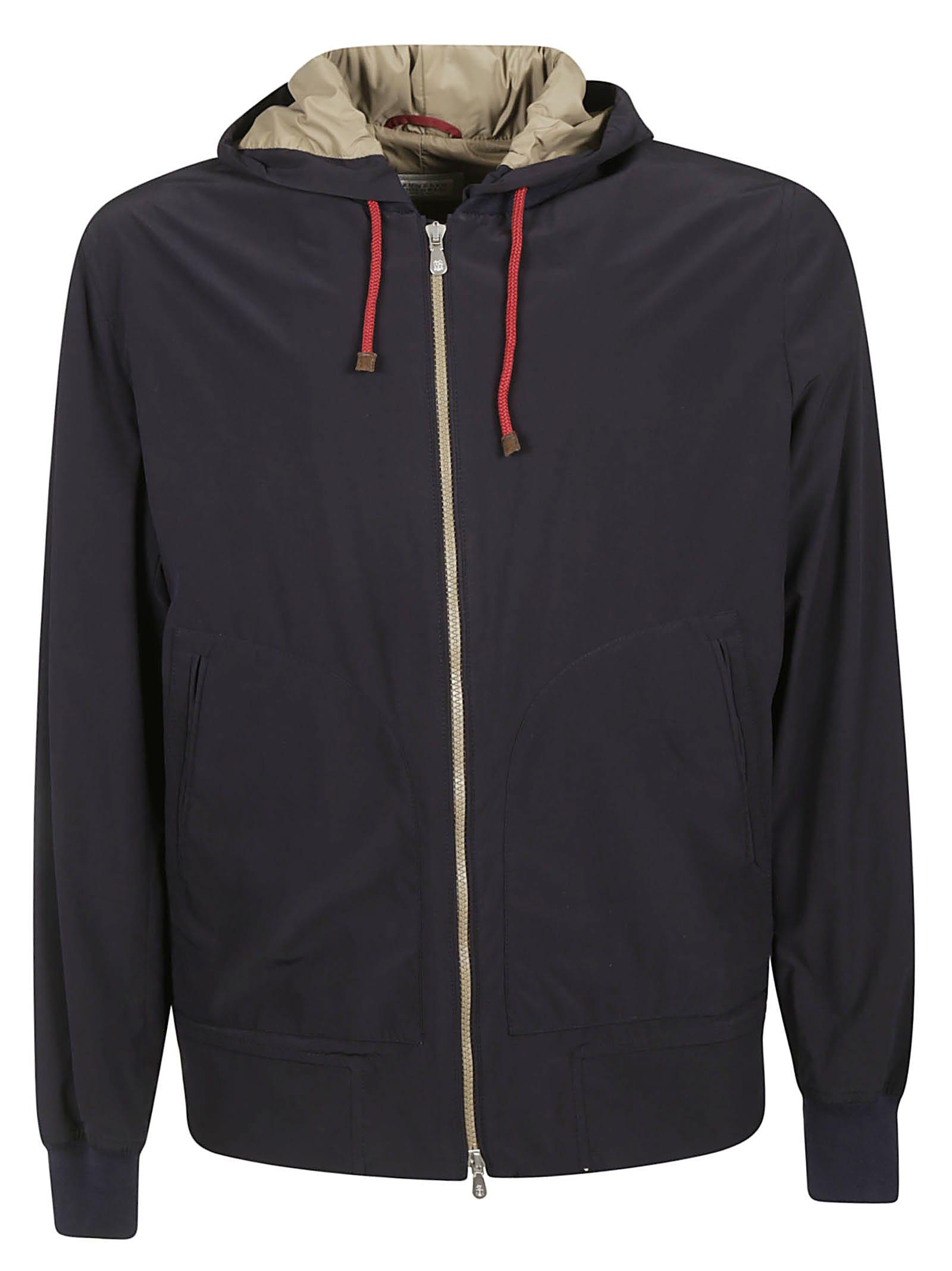 Brunello Cucinelli Zip Hooded Jacket